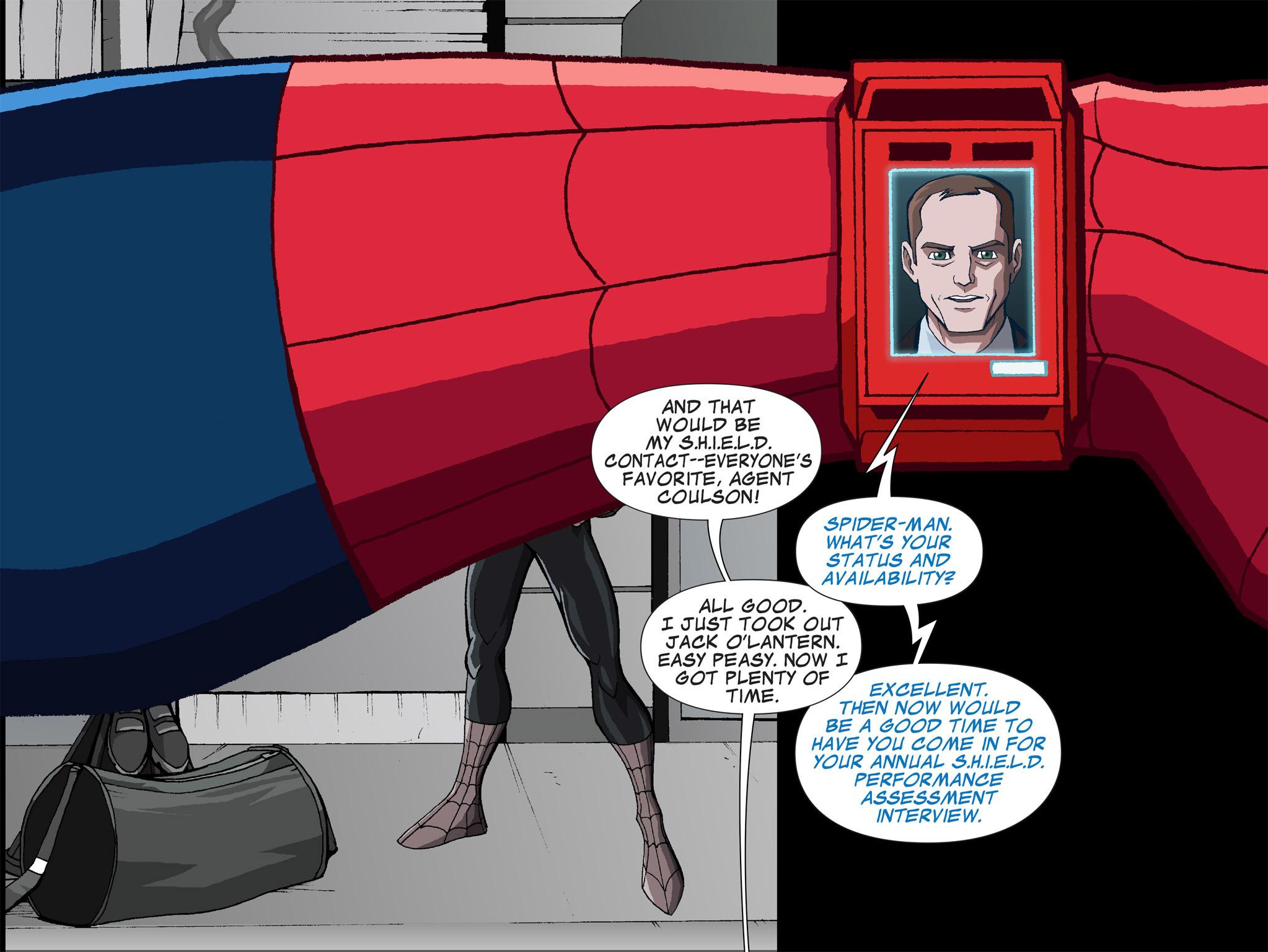 Read online Ultimate Spider-Man (Infinite Comics) (2015) comic -  Issue #1 - 18