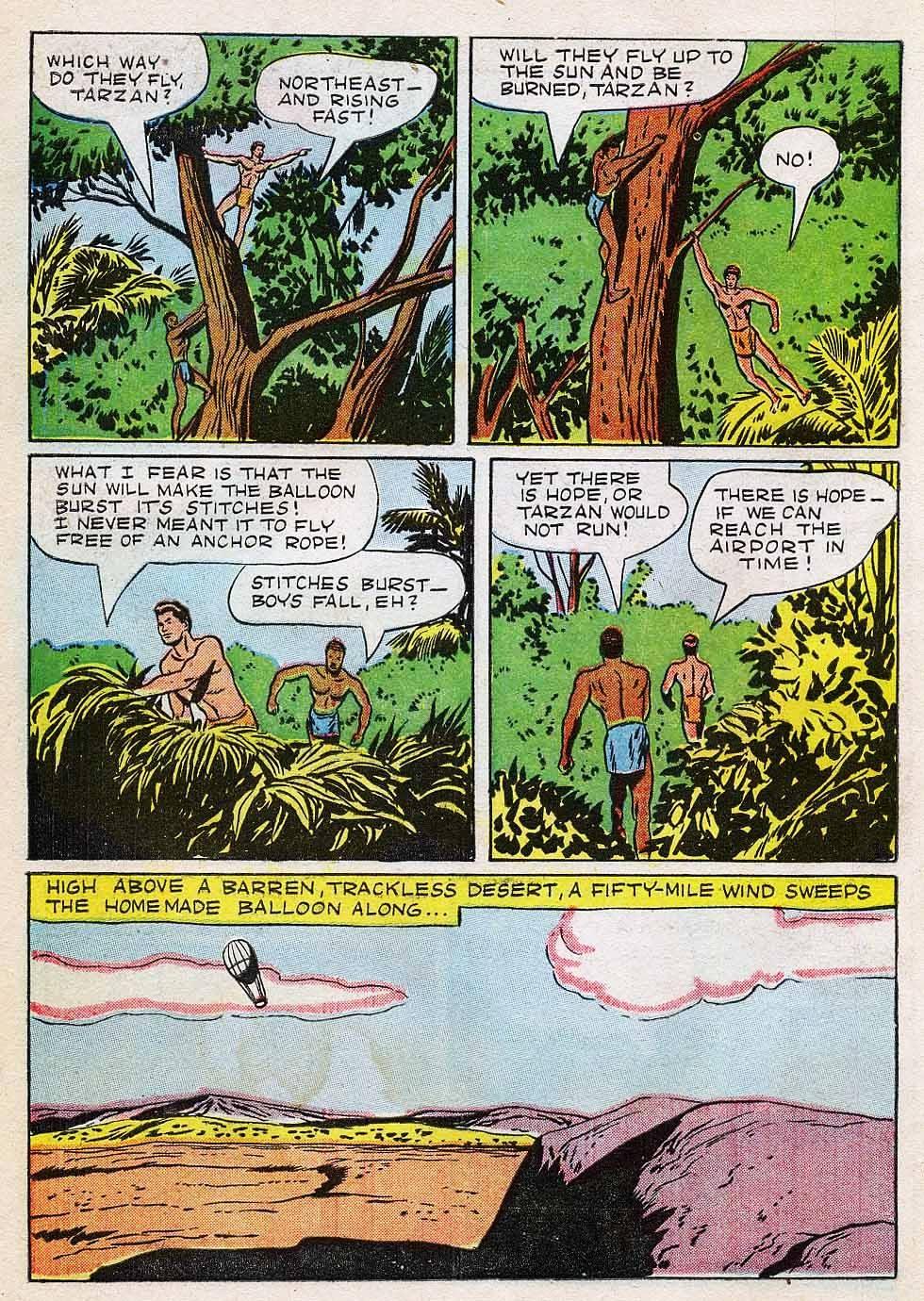 Tarzan (1948) issue 7 - Page 10