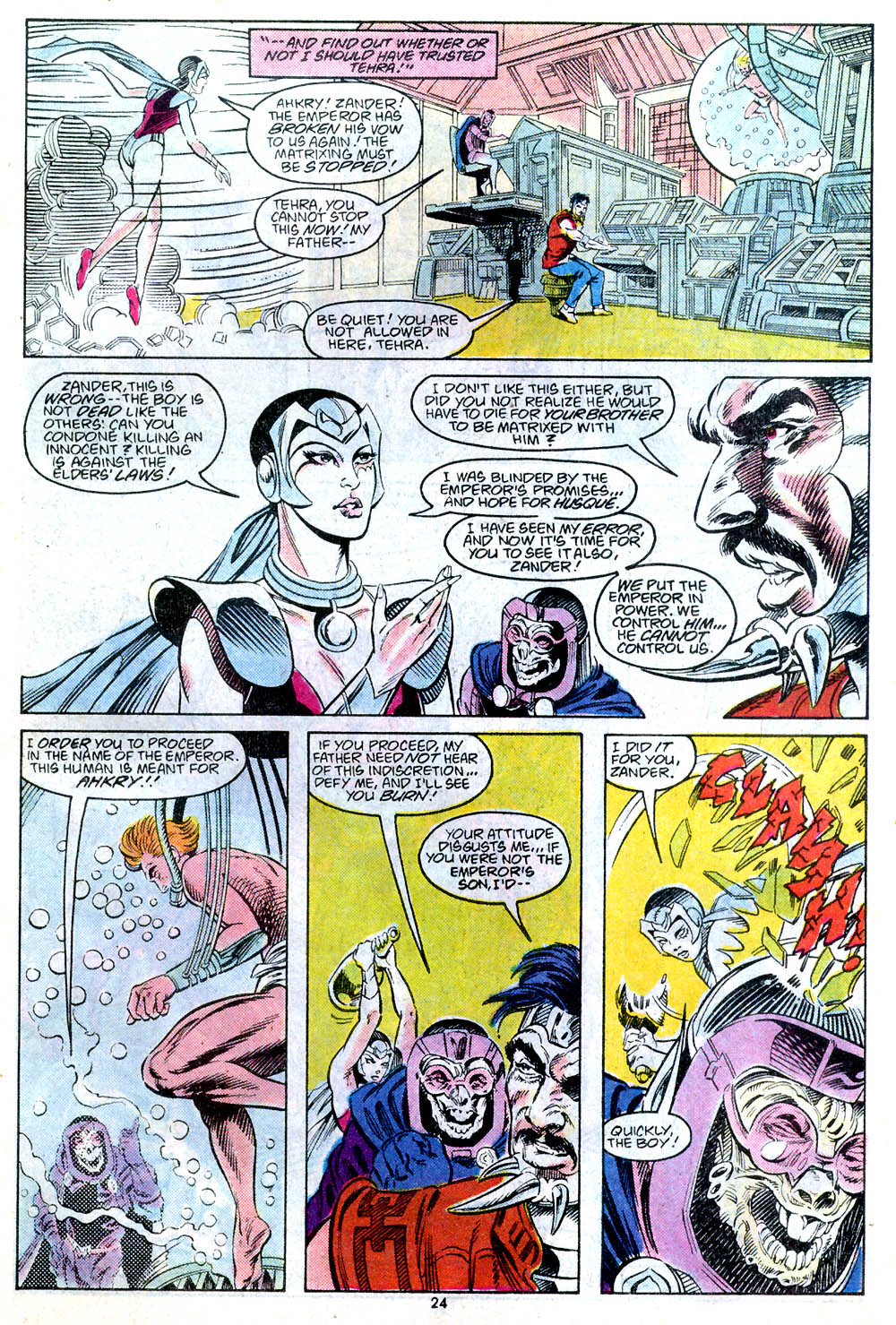 Read online Adventures of Superman (1987) comic -  Issue #443 - 26