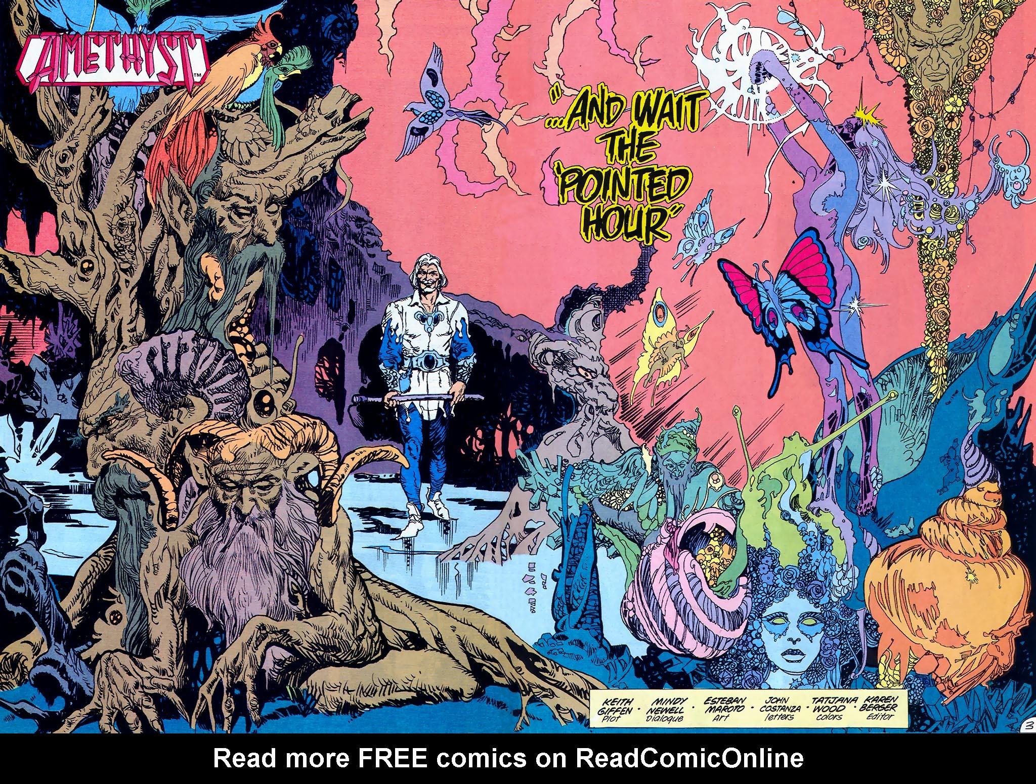 Read online Amethyst (1987) comic -  Issue #1 - 4