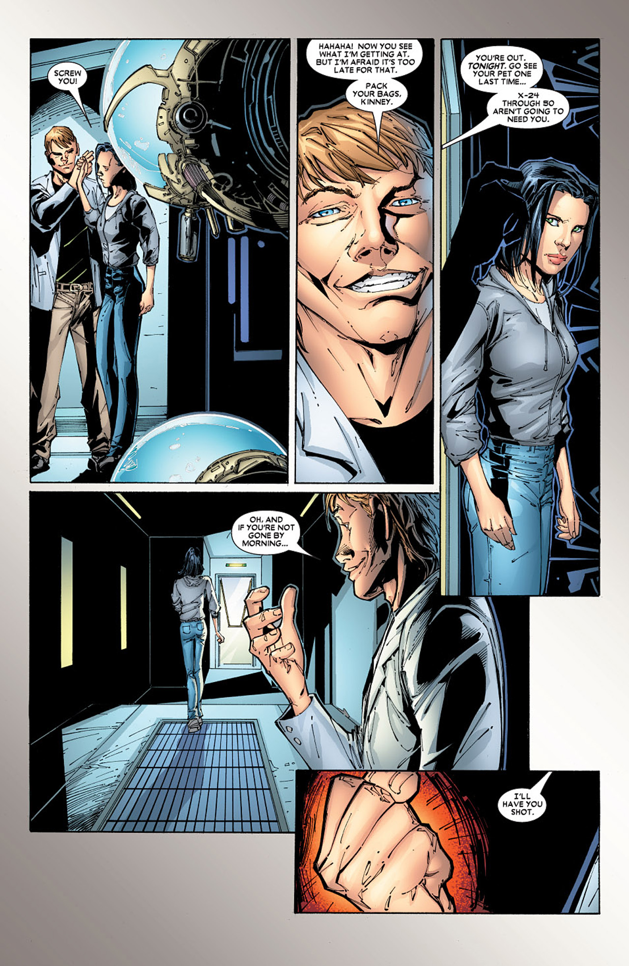 Read online X-23 (2005) comic -  Issue #5 - 16