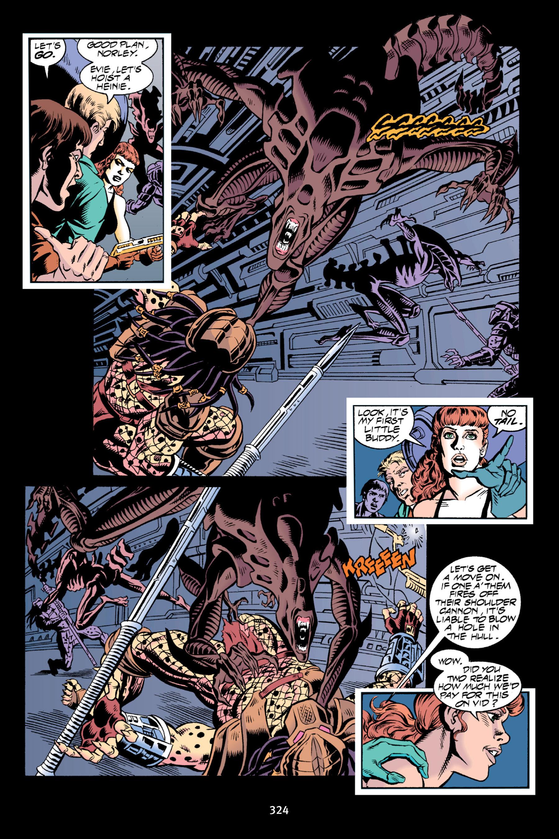 Read online Aliens vs. Predator Omnibus comic -  Issue # _TPB 2 Part 3 - 99