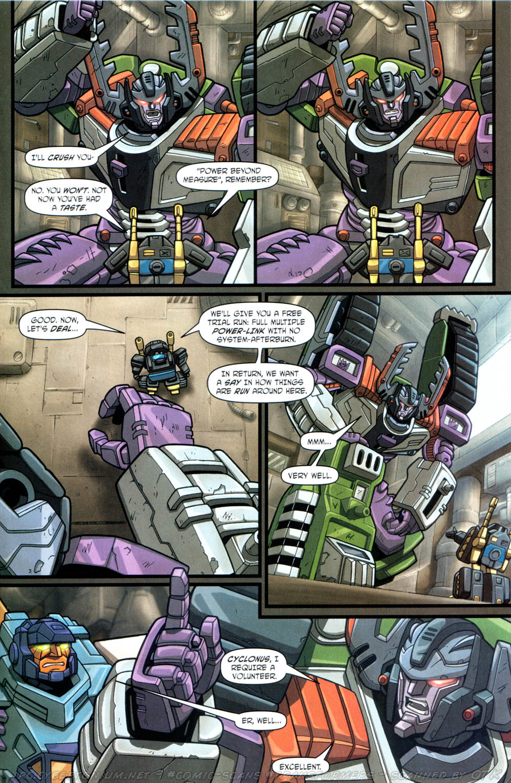 Read online Transformers Armada comic -  Issue #12 - 11