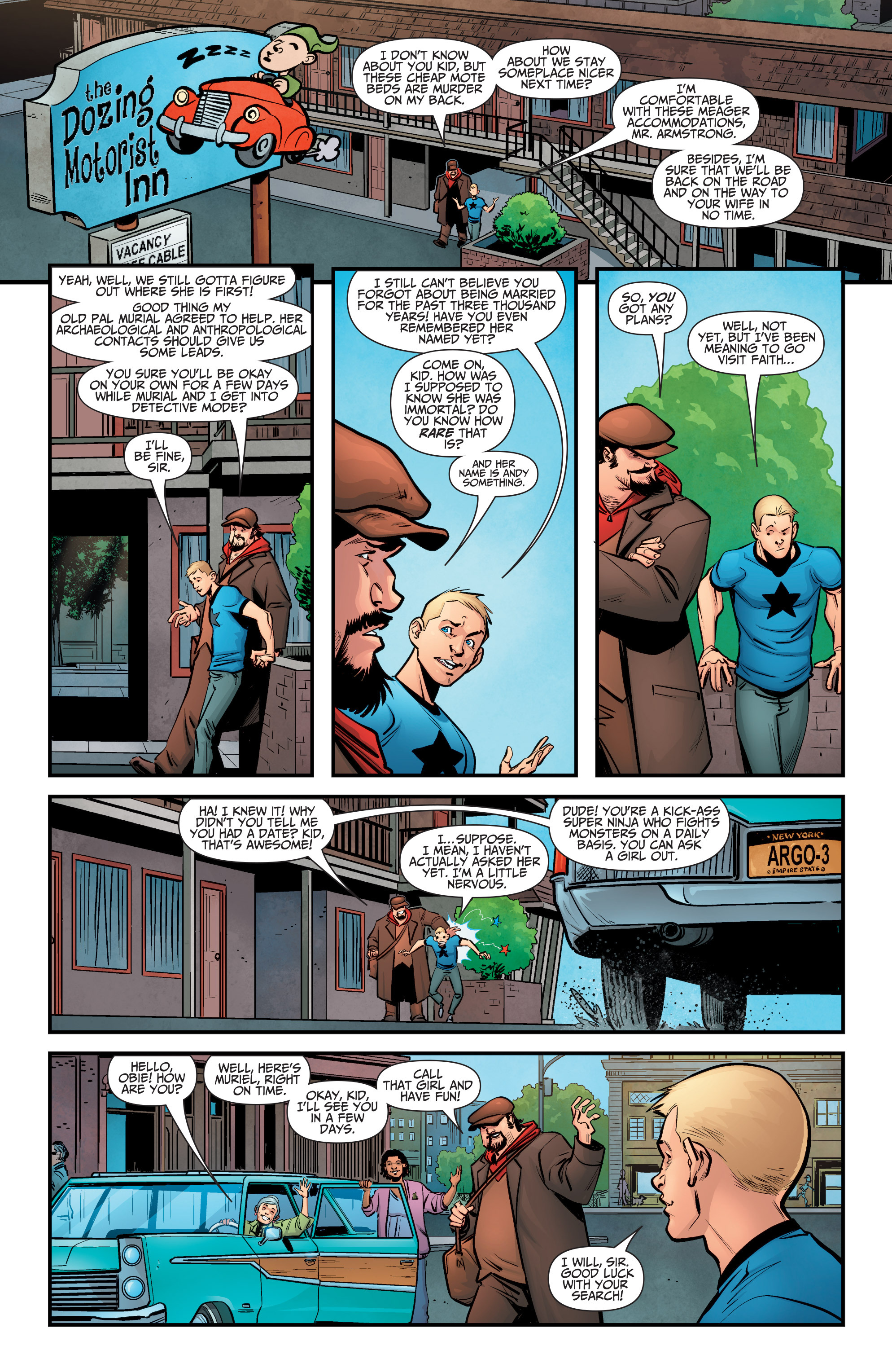 Read online A&A: The Adventures of Archer & Armstrong comic -  Issue #5 - 3