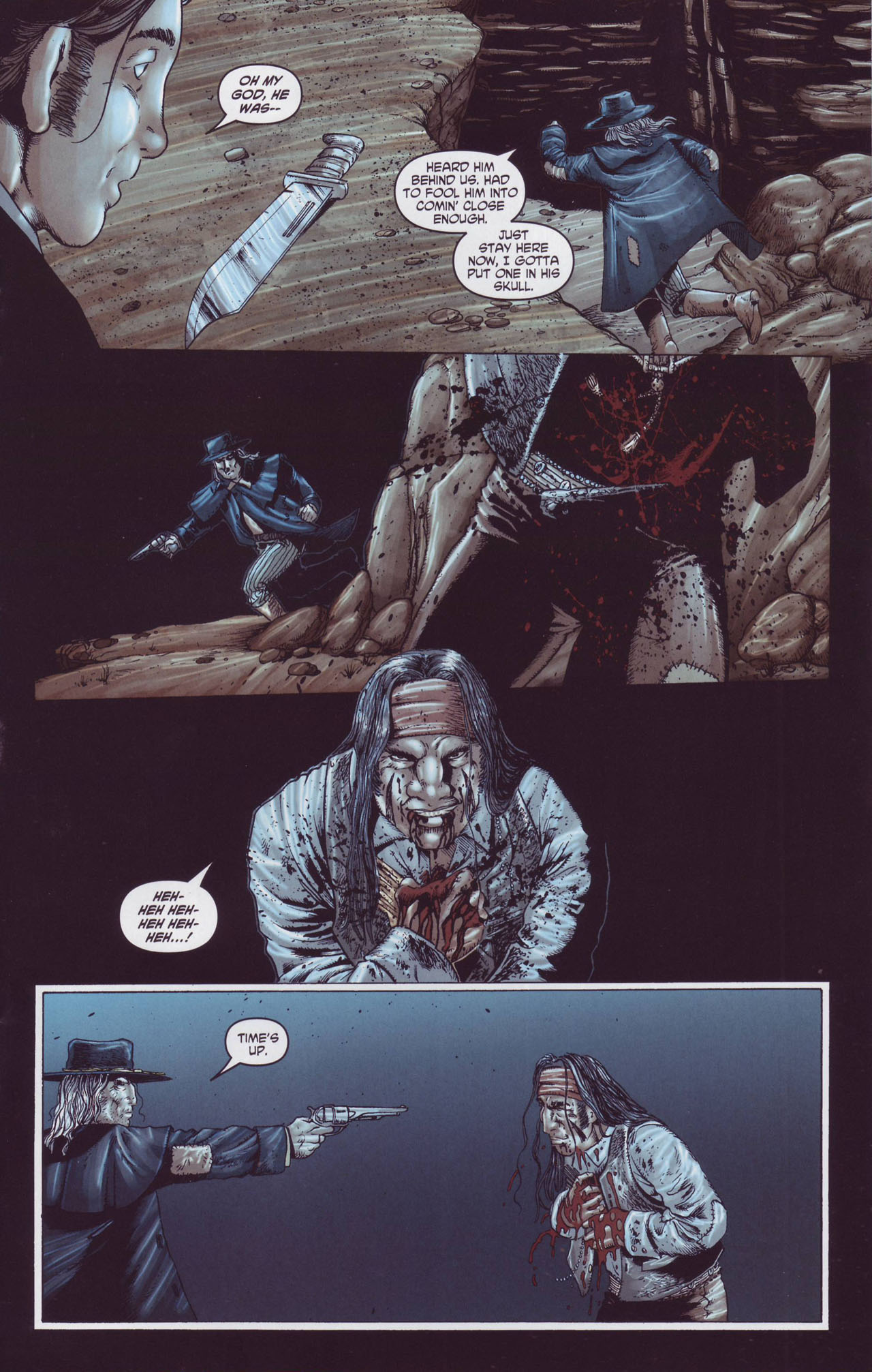 Read online Garth Ennis' Streets of Glory comic -  Issue #4 - 15