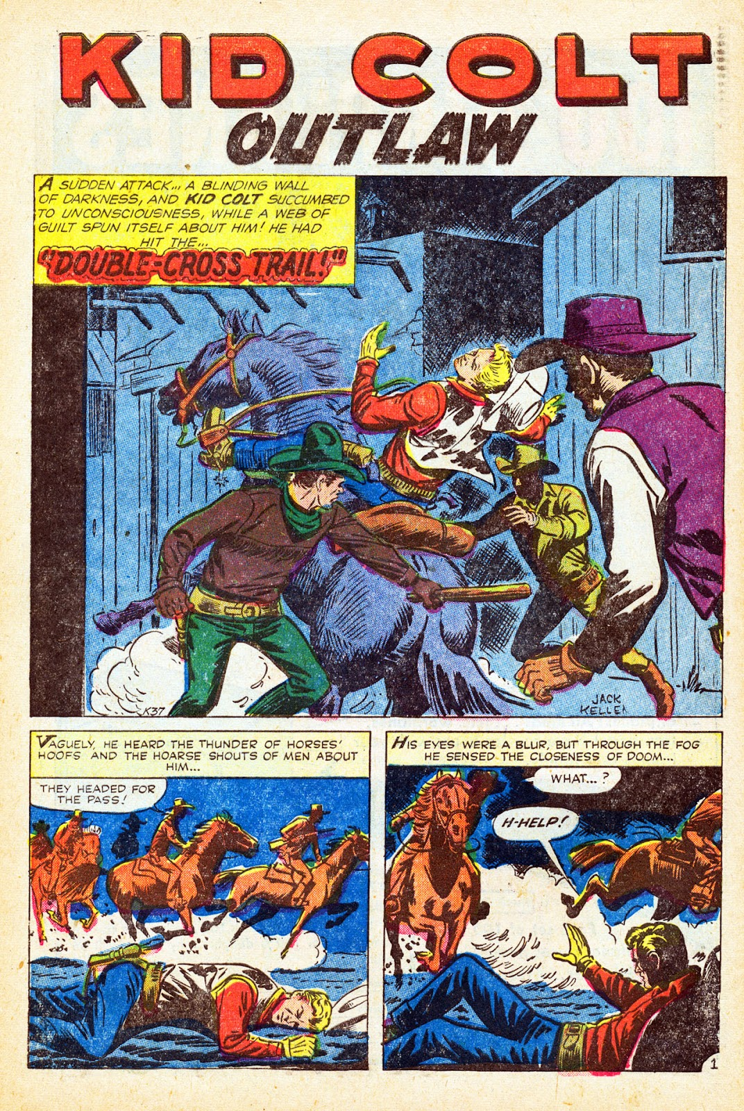 Gunsmoke Western issue 37 - Page 10