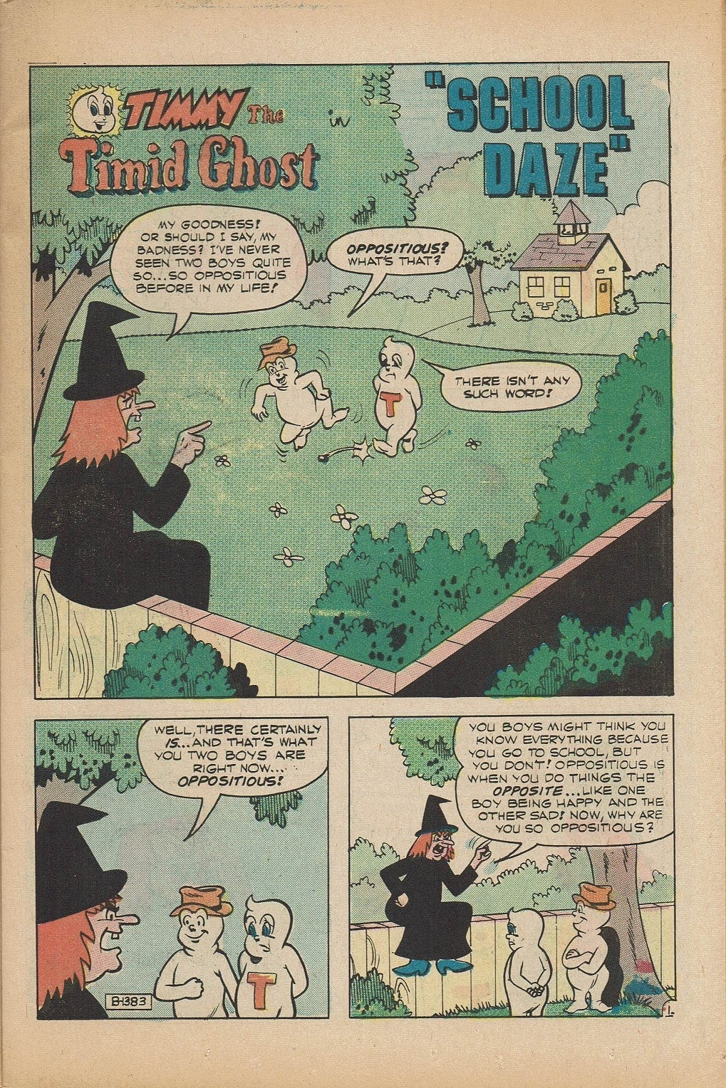 Read online Timmy the Timid Ghost comic -  Issue #5 - 11
