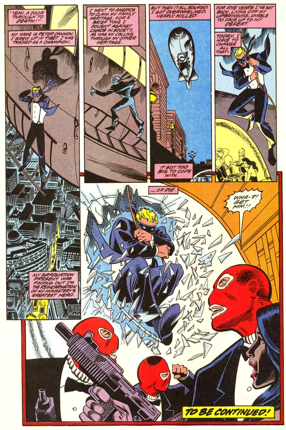 Read online Peter Cannon--Thunderbolt (1992) comic -  Issue #1 - 23