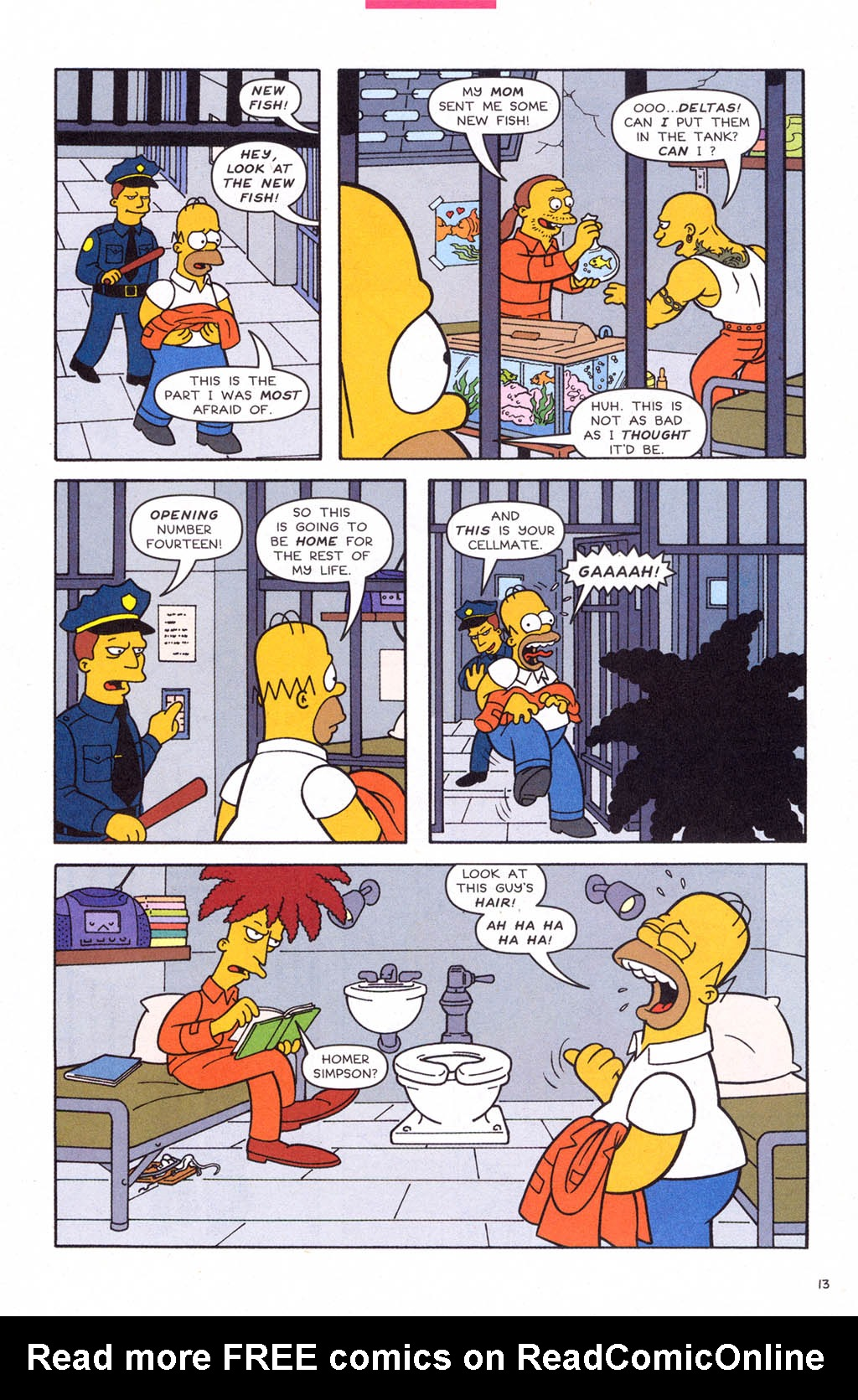 Read online Simpsons Comics comic -  Issue #108 - 14