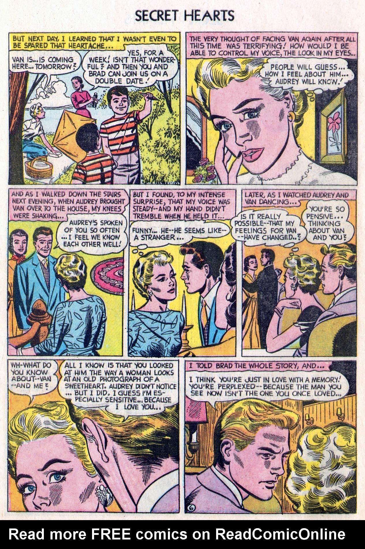 Read online Secret Hearts comic -  Issue #28 - 8