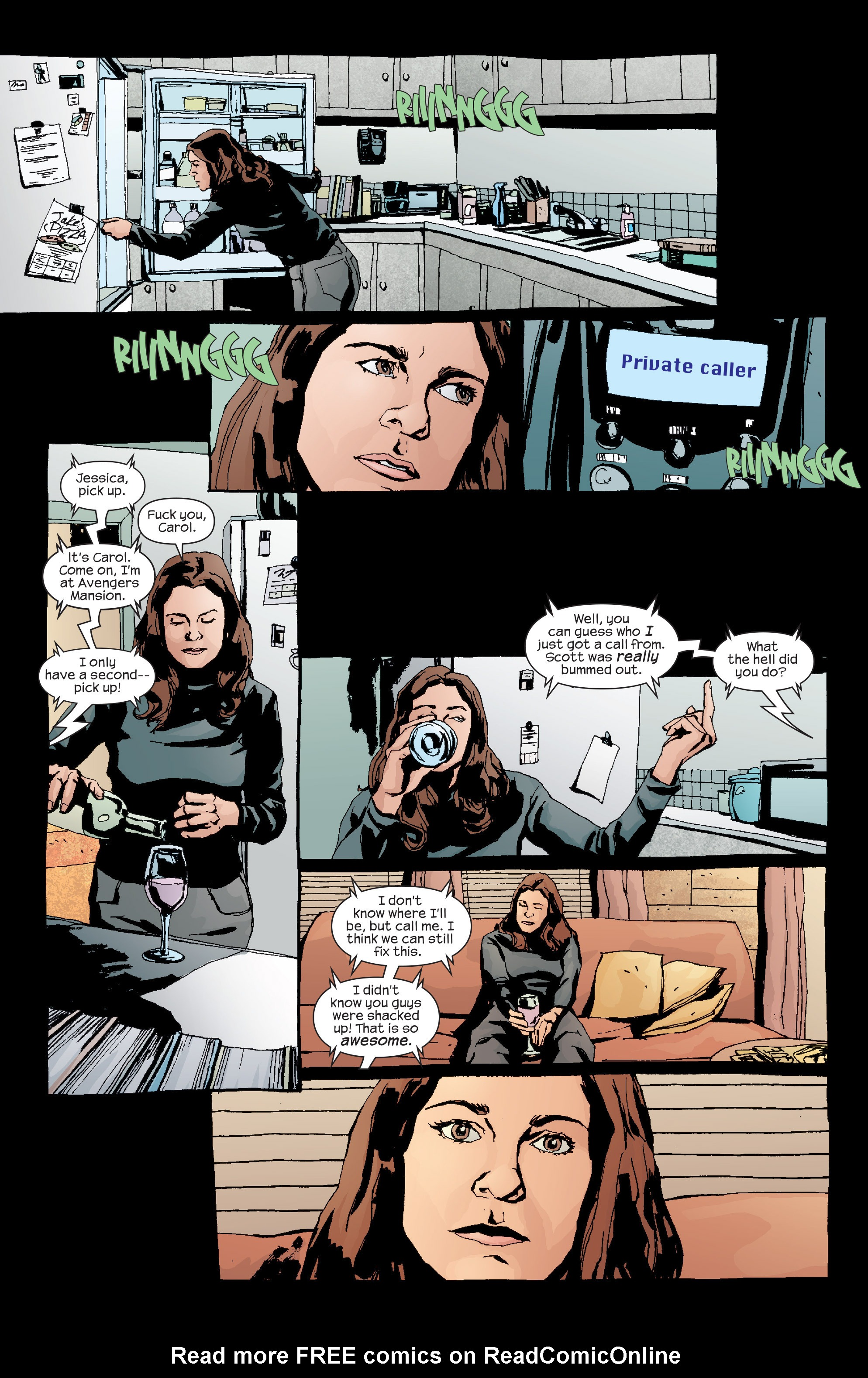 Read online Alias comic -  Issue #18 - 6