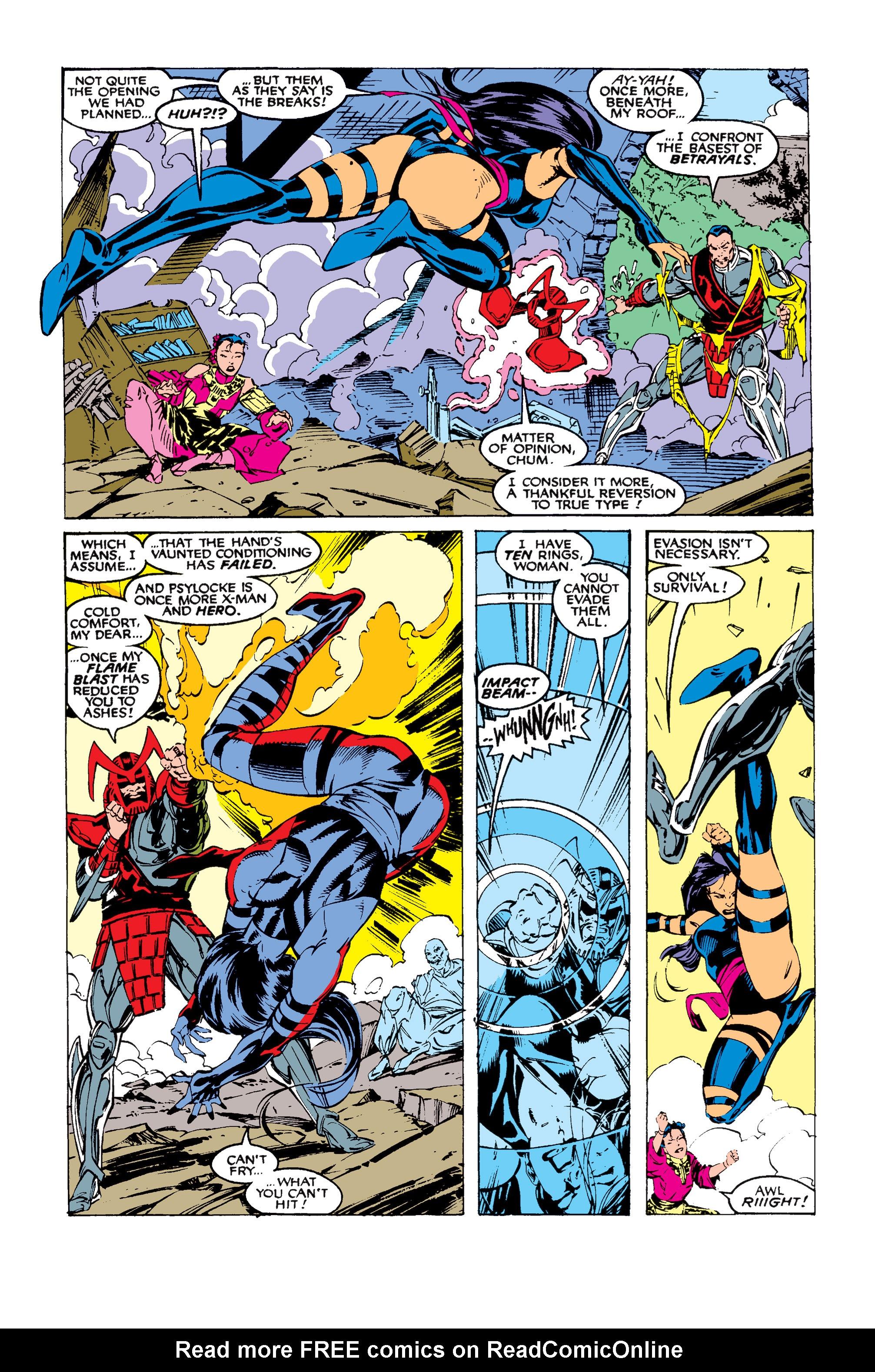 Read online Uncanny X-Men (1963) comic -  Issue #258 - 20