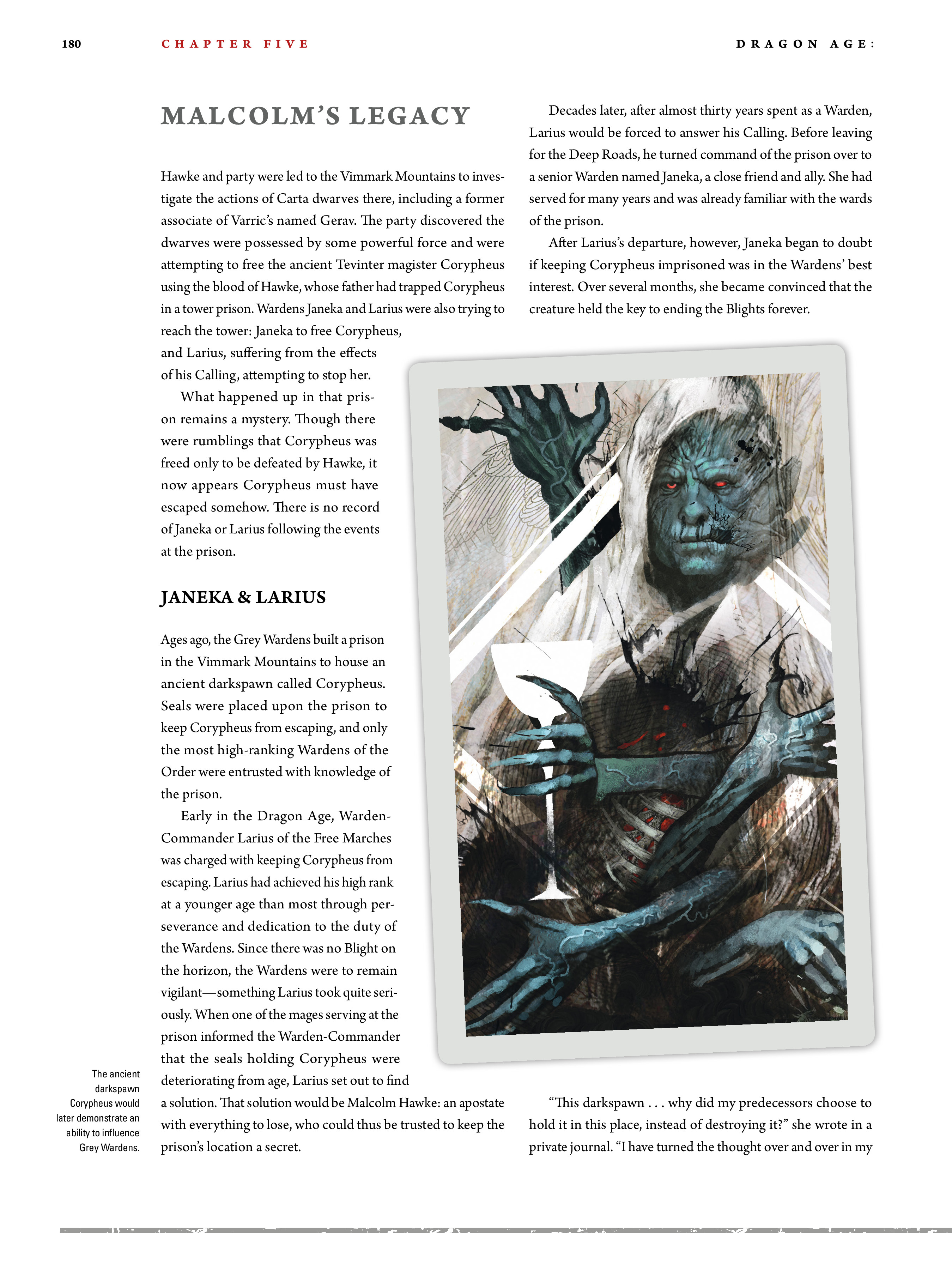 Read online Dragon Age: The World of Thedas comic -  Issue # TPB 2 - 175