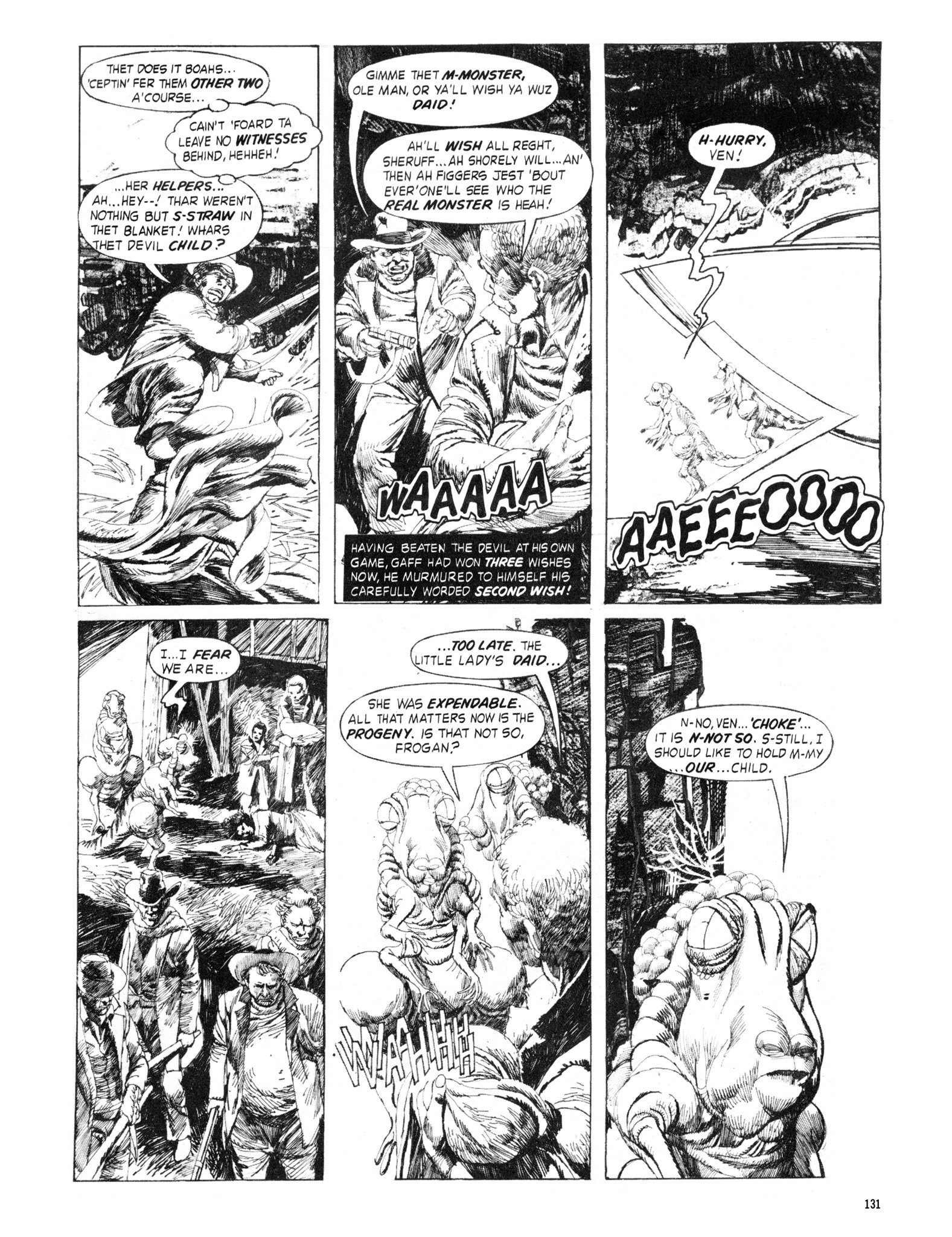 Read online Eerie Archives comic -  Issue # TPB 18 - 132