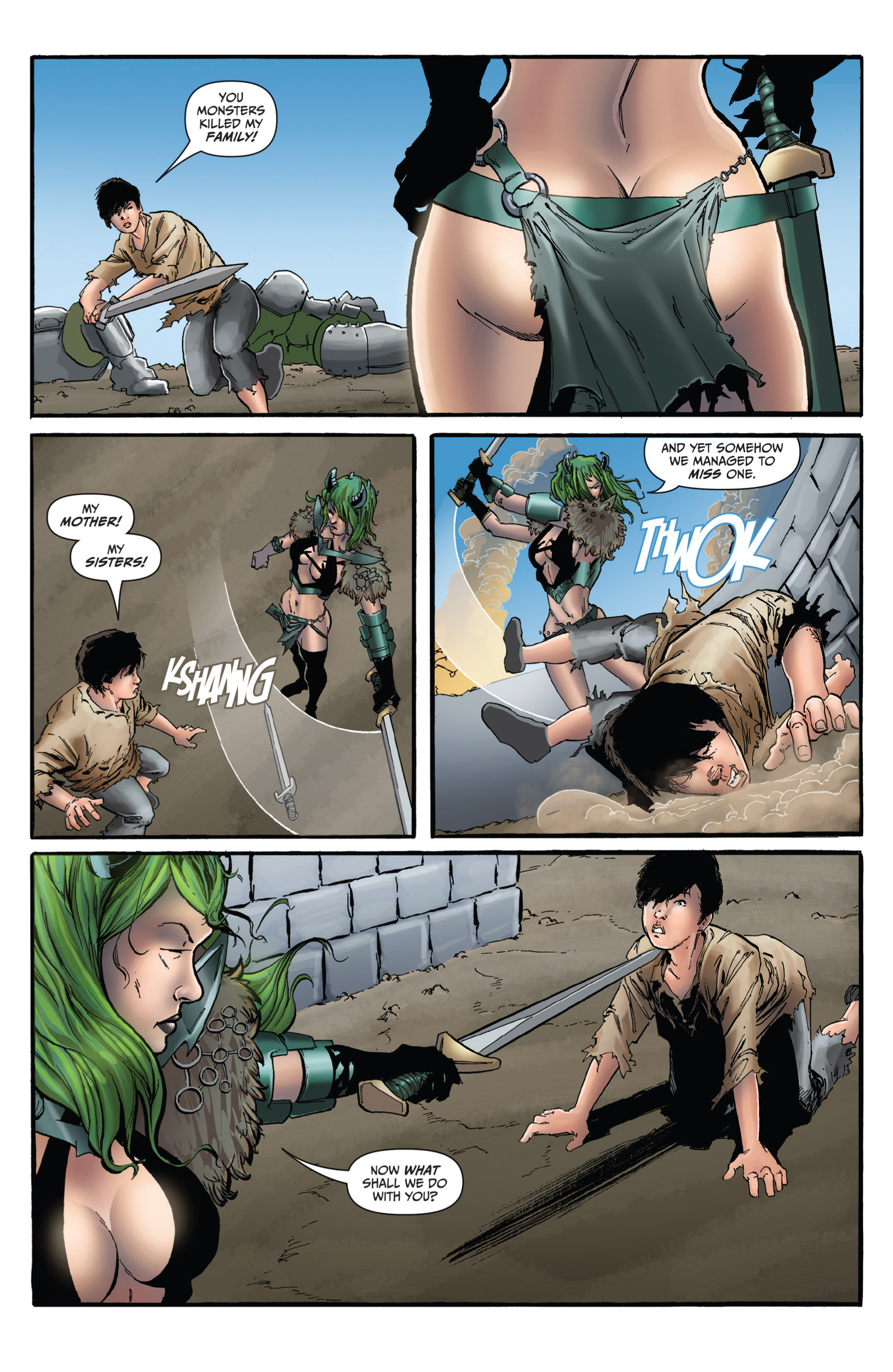 Read online Grimm Fairy Tales presents Grimm Universe comic -  Issue # TPB - 103