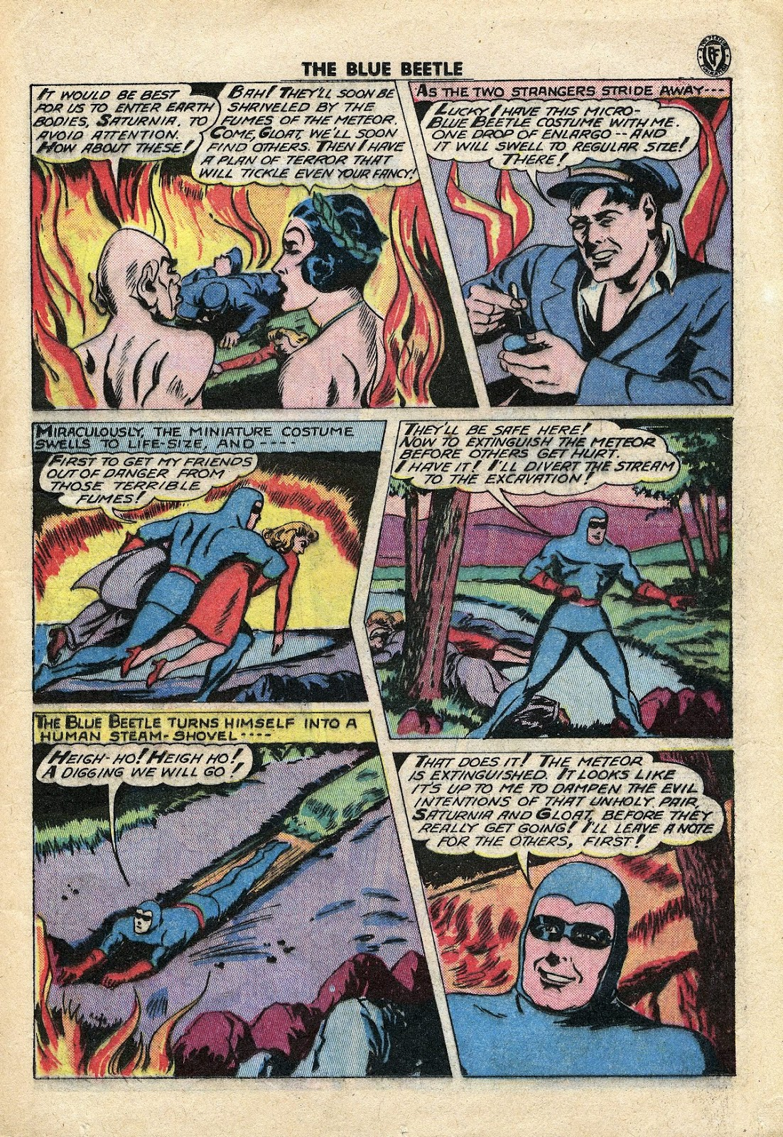 The Blue Beetle issue 34 - Page 16