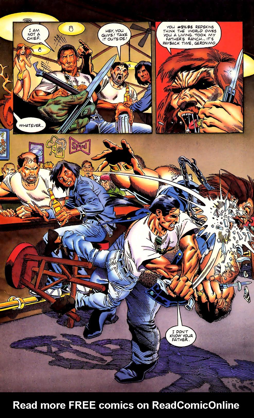 Read online Turok, Dinosaur Hunter (1993) comic -  Issue #11 - 11