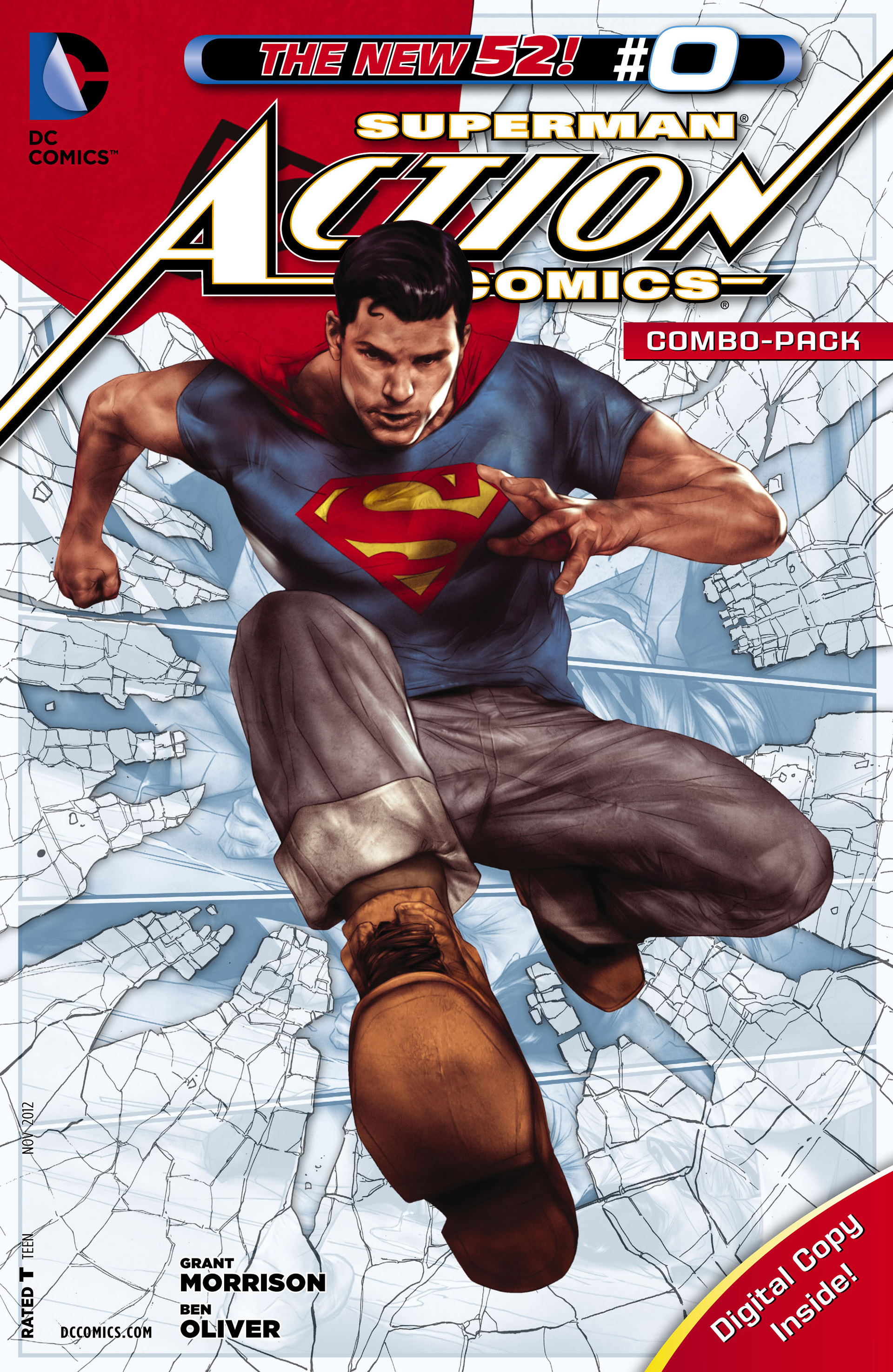 Read online Action Comics (2011) comic -  Issue #0 - 32
