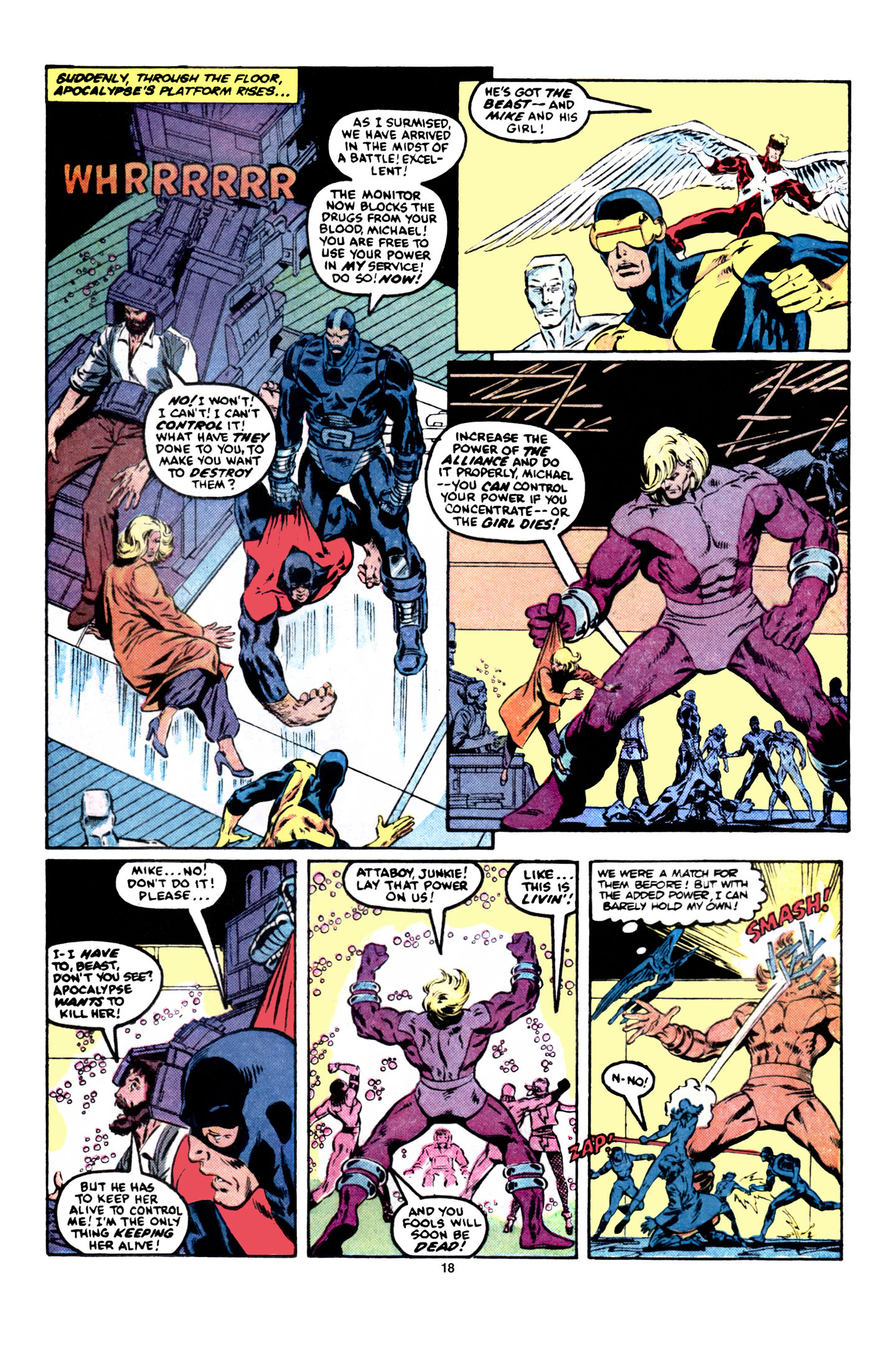 Read online X-Factor (1986) comic -  Issue #6 - 19