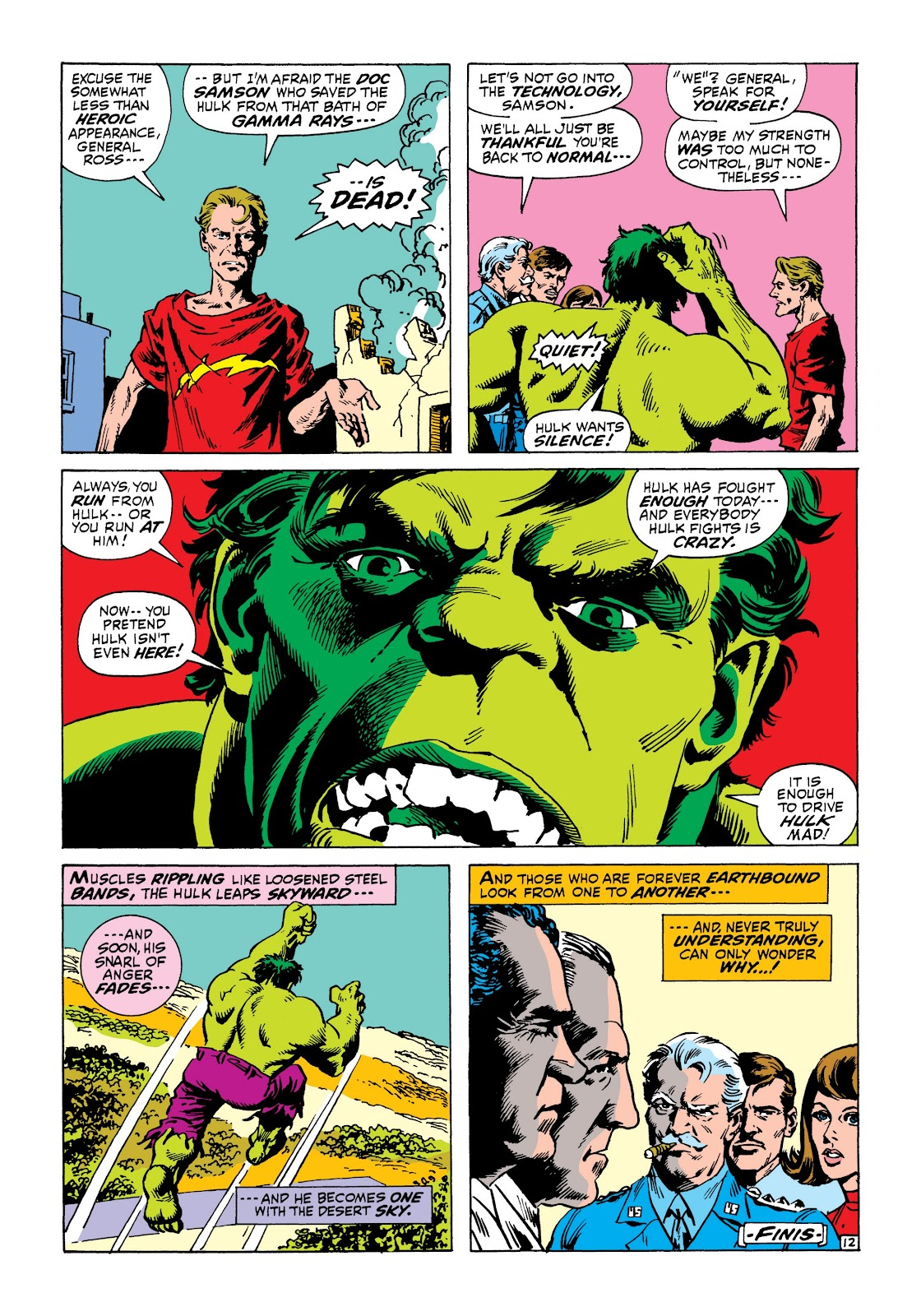 Read online Marvel Masterworks: The Incredible Hulk comic -  Issue # TPB 8 (Part 1) - 75