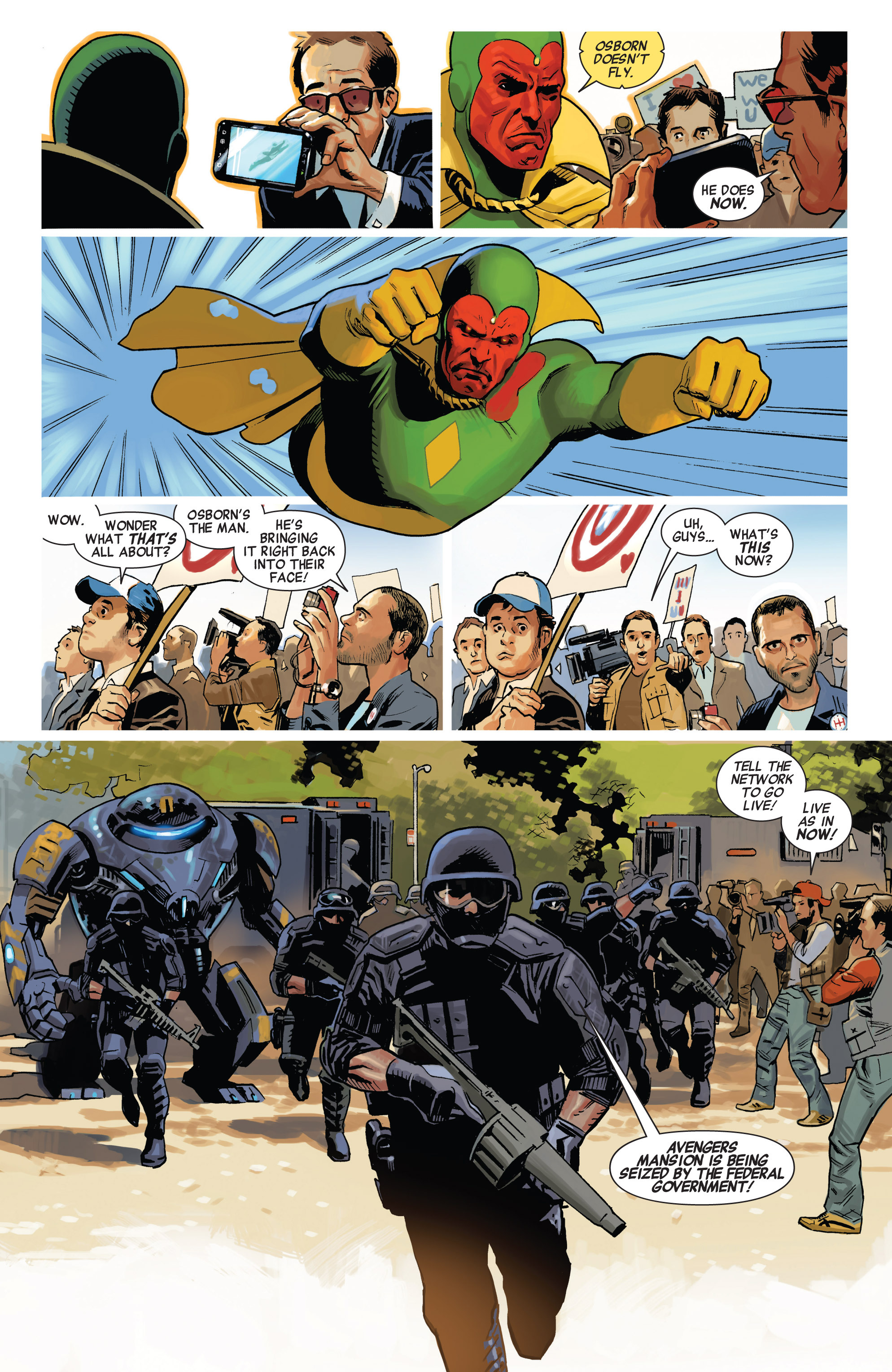 Read online Avengers (2010) comic -  Issue #23 - 13