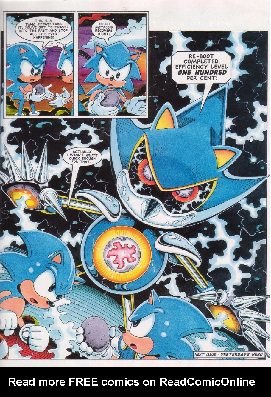 Read online Sonic the Comic comic -  Issue #27 - 9