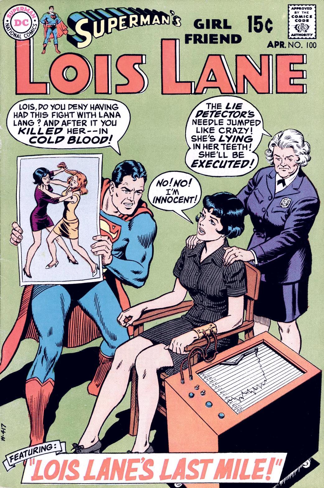 Supermans Girl Friend, Lois Lane 100 Page 1