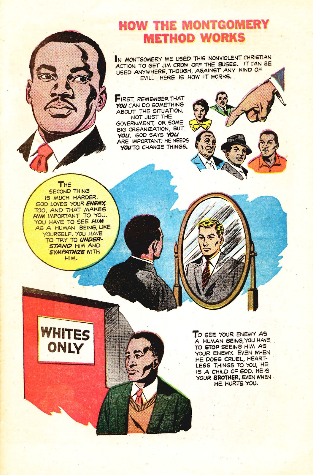 Read online Martin Luther King and the Montgomery Story comic -  Issue # Full - 13