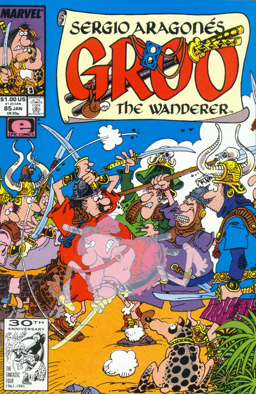 Read online Sergio Aragonés Groo the Wanderer comic -  Issue #85 - 1