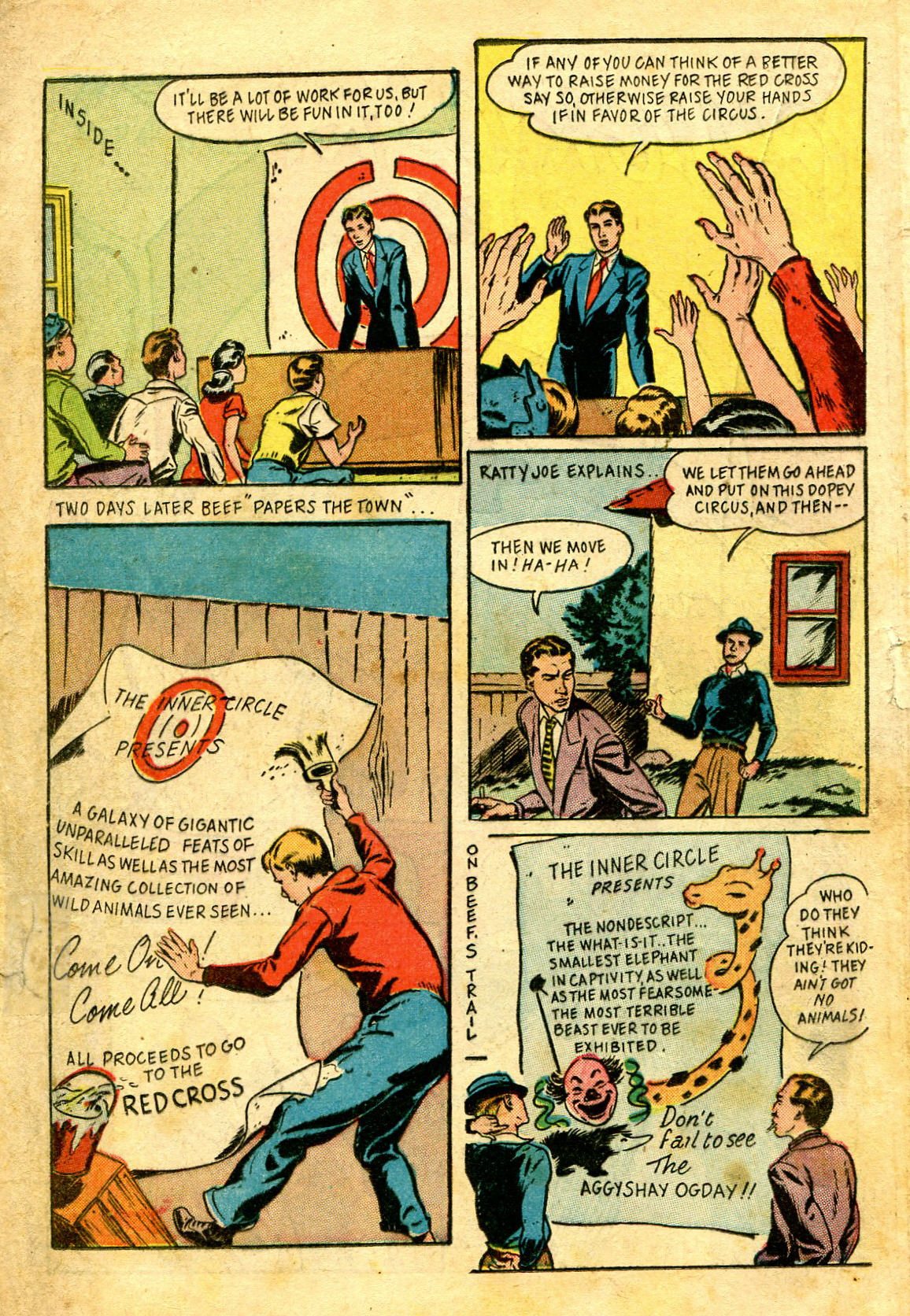 Read online Shadow Comics comic -  Issue #43 - 36