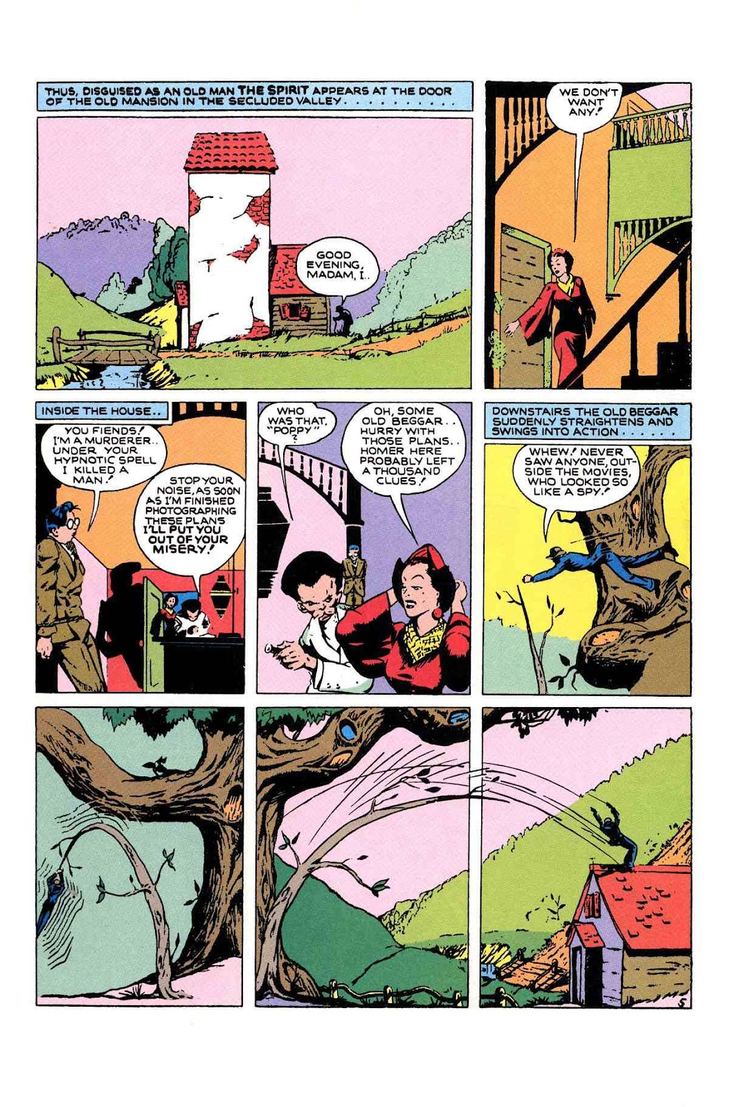 Read online Will Eisner's The Spirit Archives comic -  Issue # TPB 1 (Part 2) - 25