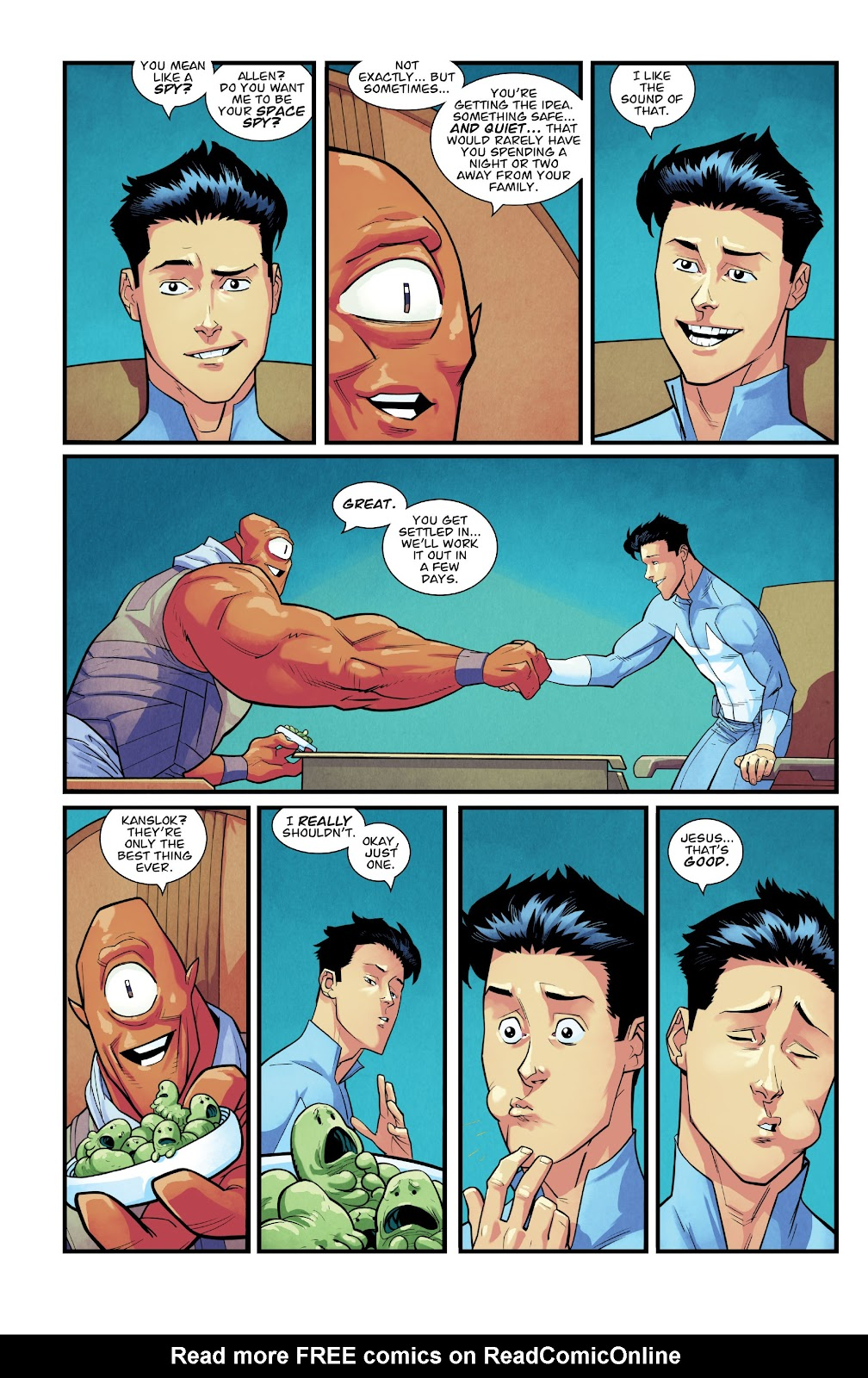 Invincible (2003) issue TPB 21 - Modern Family - Page 101