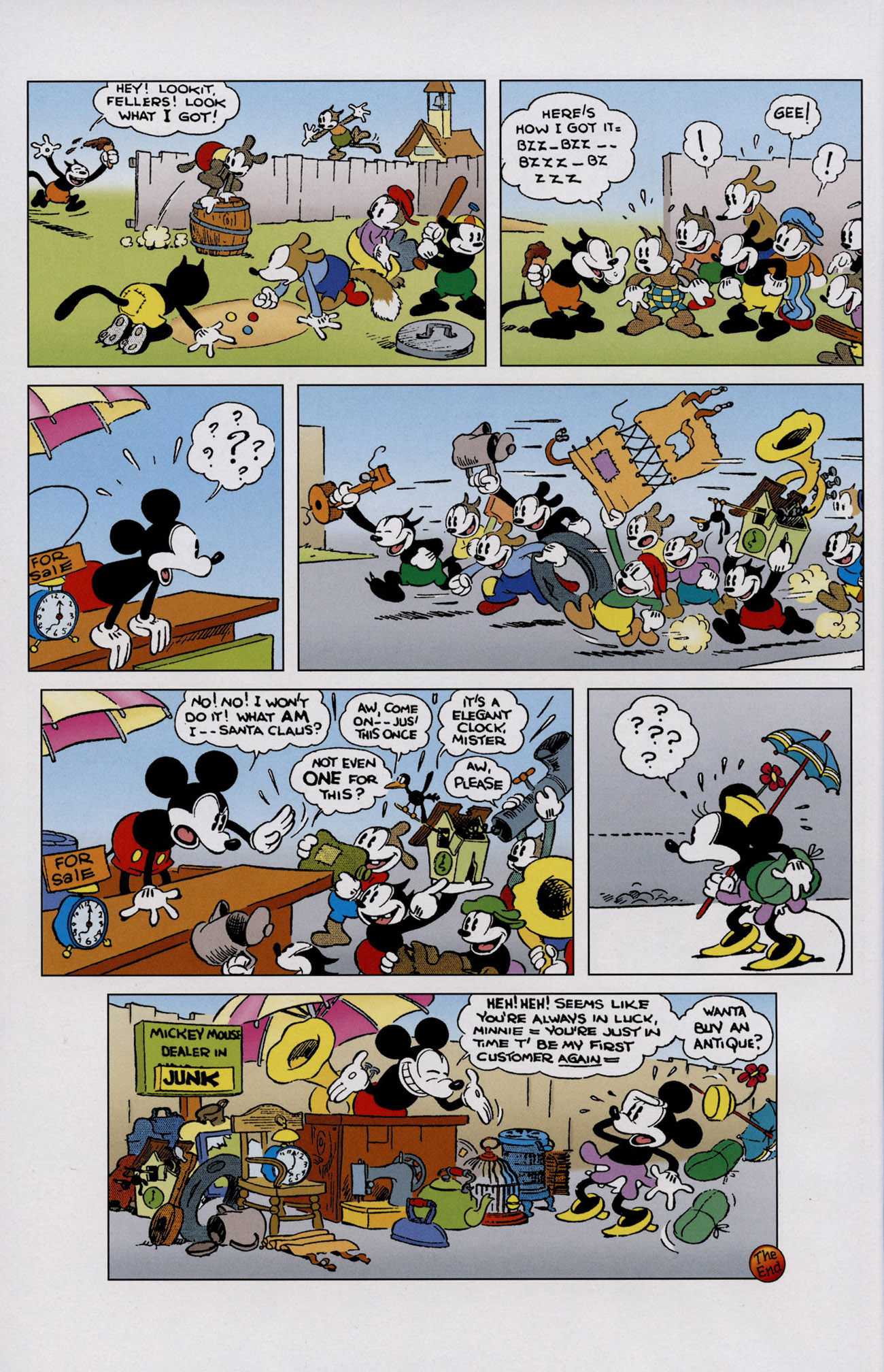 Read online Mickey Mouse (2011) comic -  Issue #307 - 24