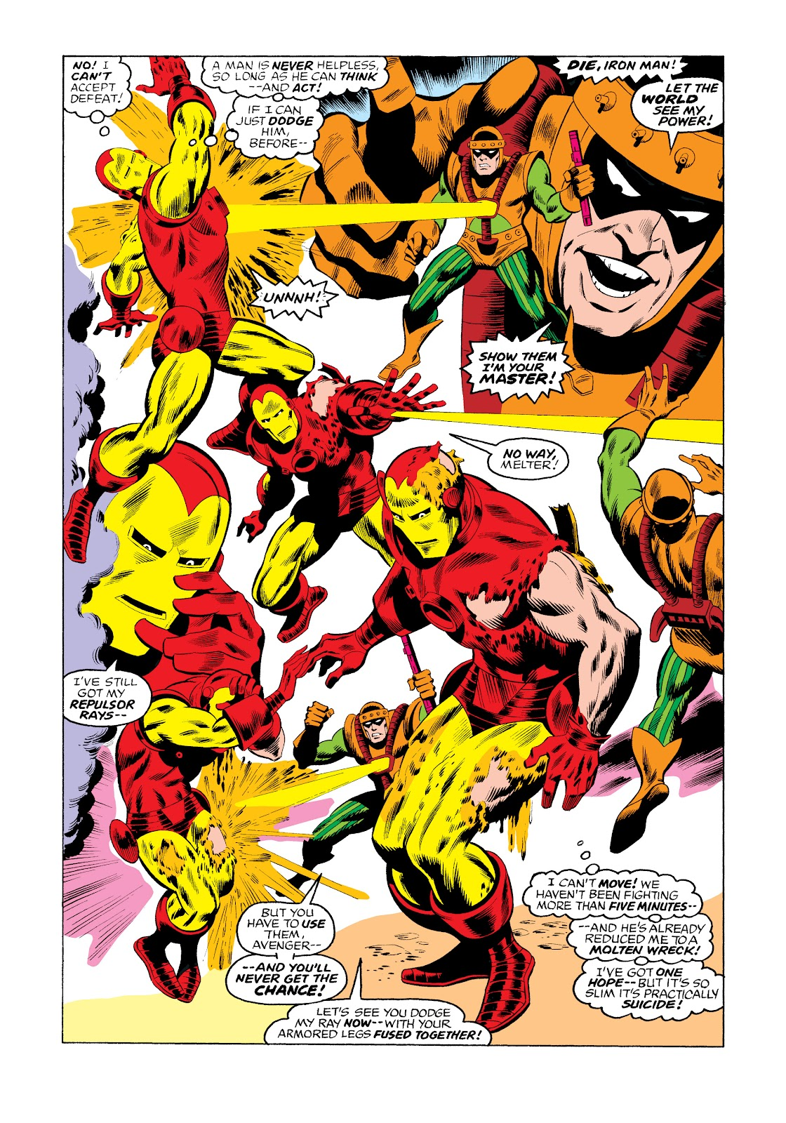Read online Marvel Masterworks: The Invincible Iron Man comic -  Issue # TPB 11 (Part 3) - 37