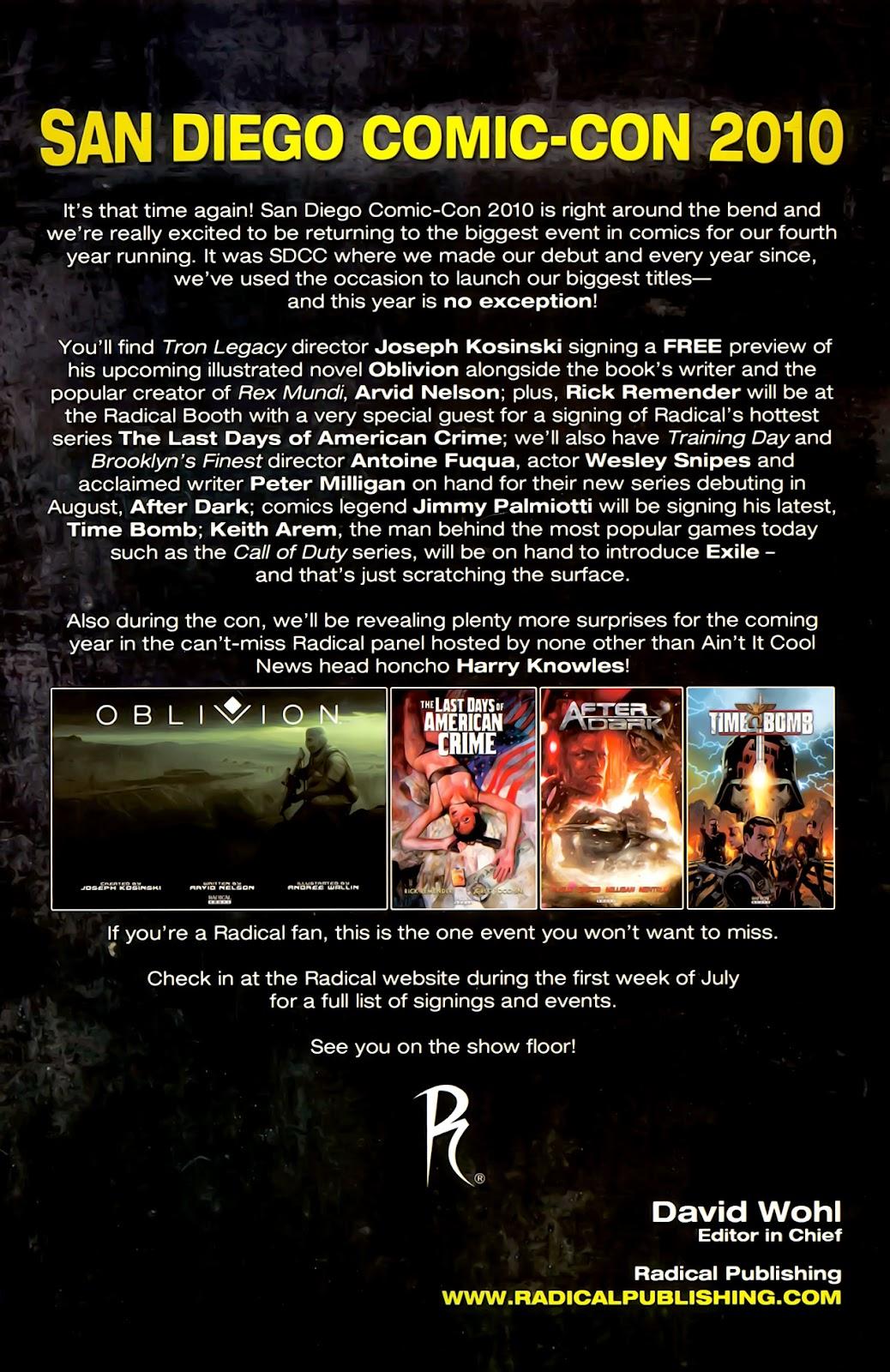 Read online After Dark comic -  Issue #0 - 30
