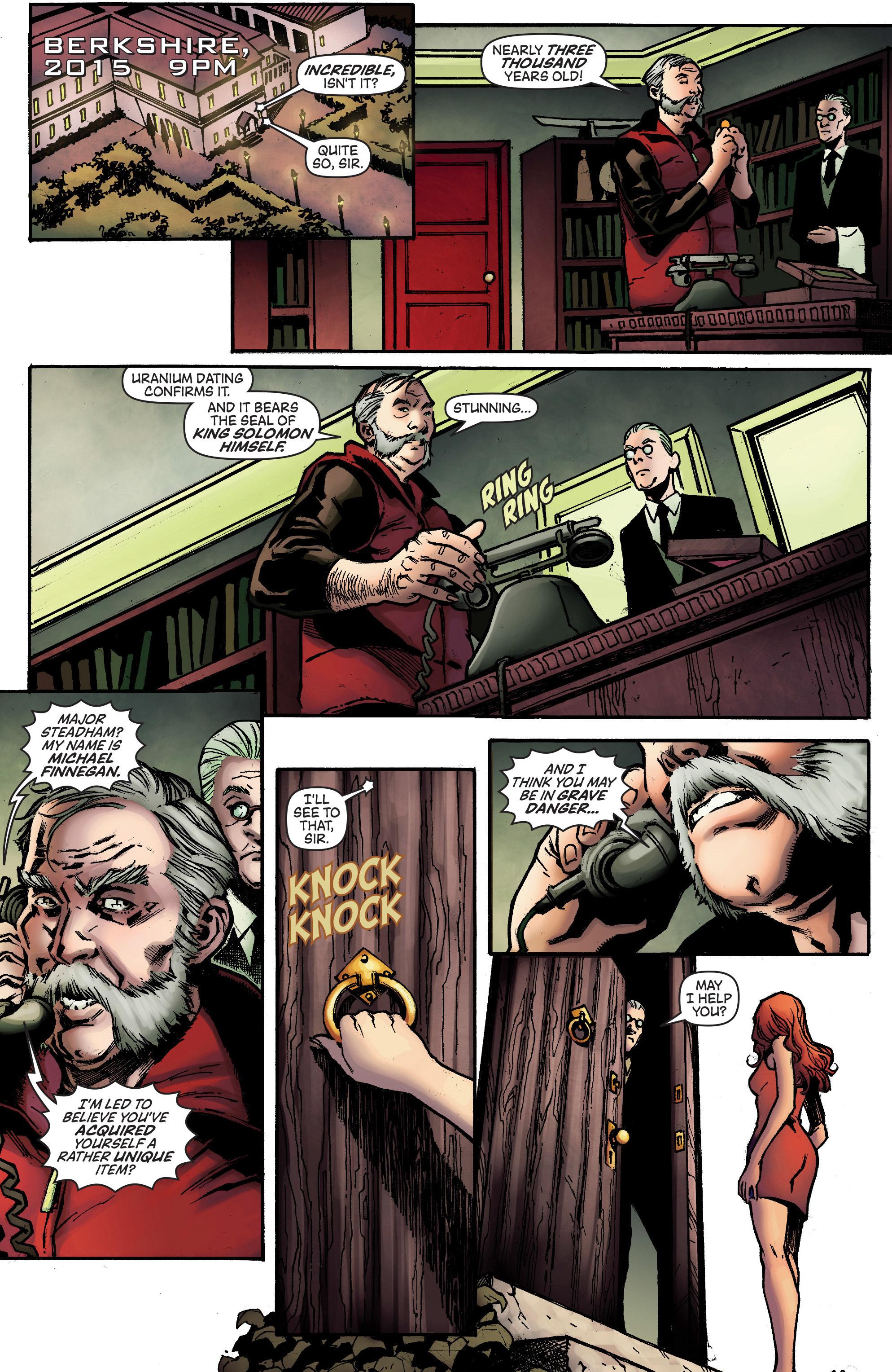 Read online IXth Generation Hidden Files comic -  Issue #1 - 22