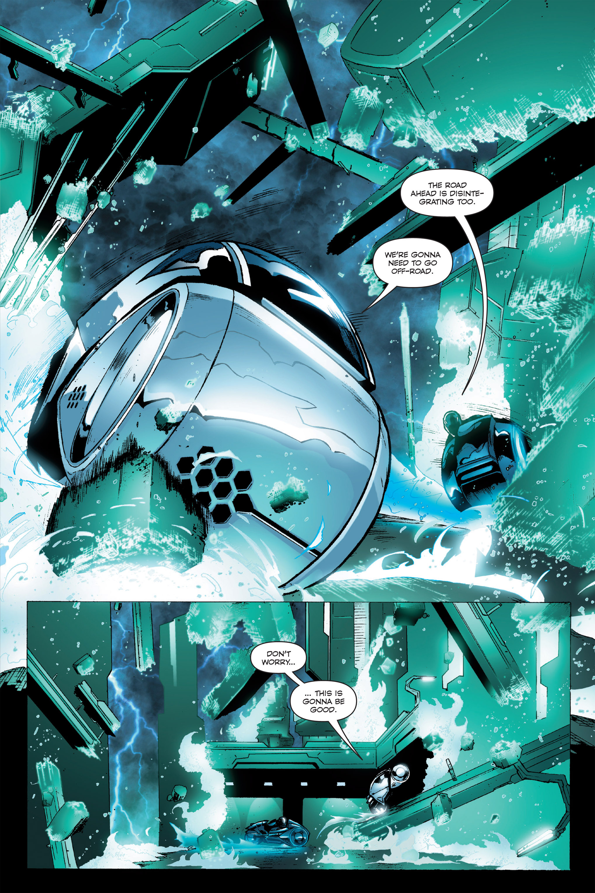 Read online TRON: Betrayal comic -  Issue # TPB - 16