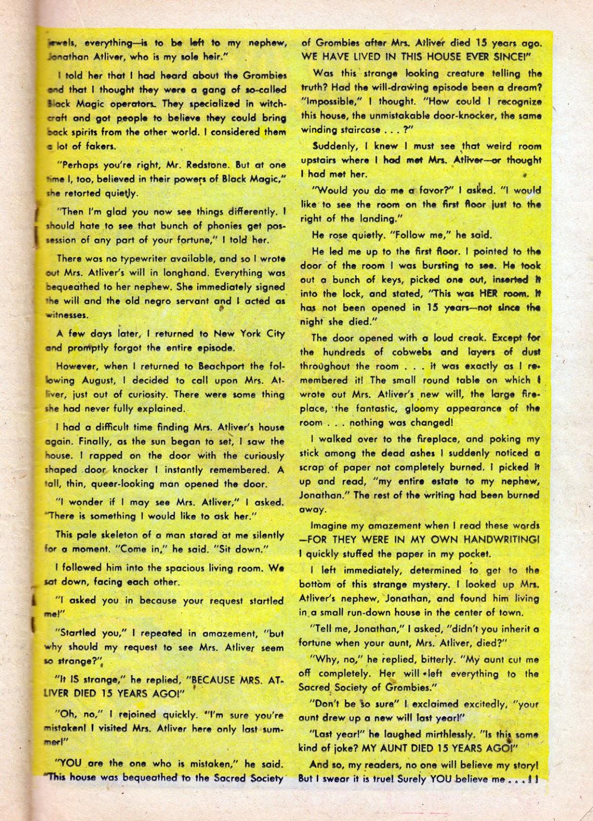 Dark Mysteries issue 1 - Page 19