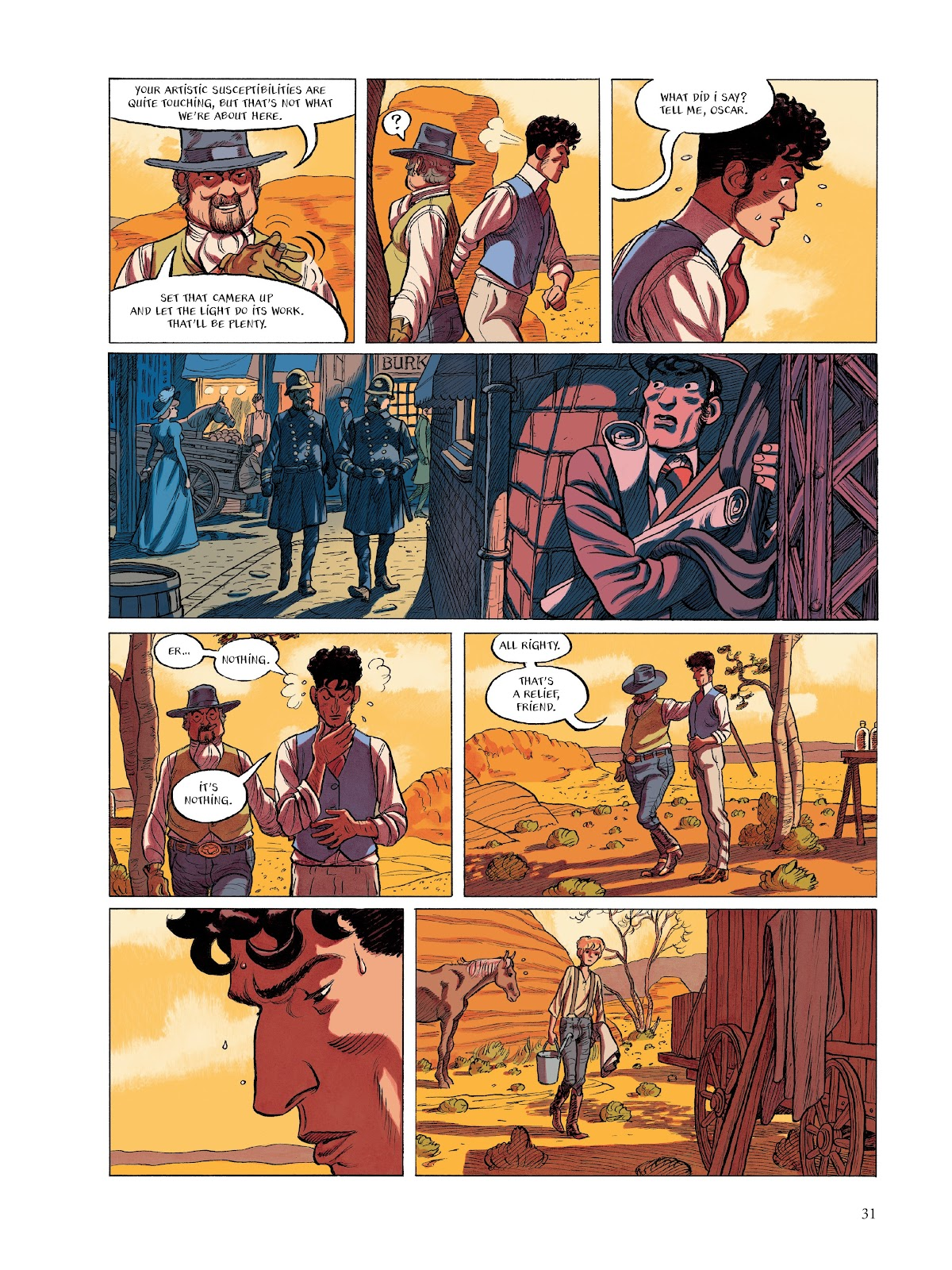 Read online The Smell of Starving Boys comic -  Issue # TPB - 32