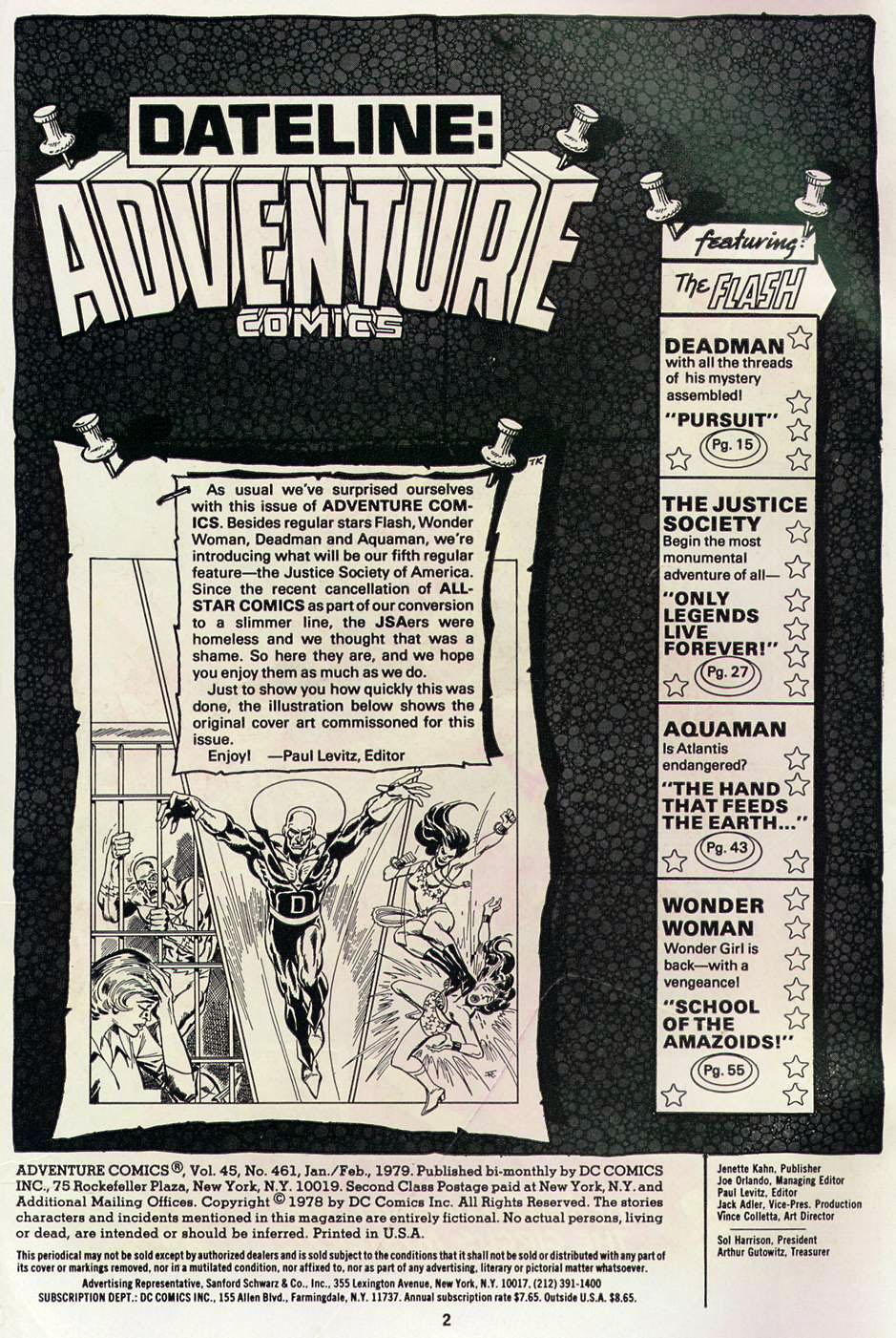 Read online Adventure Comics (1938) comic -  Issue #461 - 2