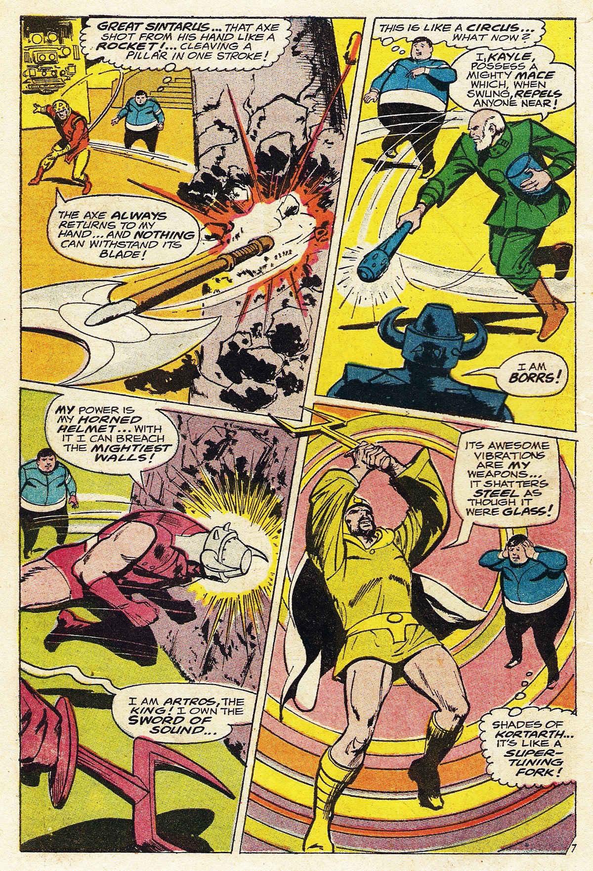 Read online Adventure Comics (1938) comic -  Issue #376 - 10