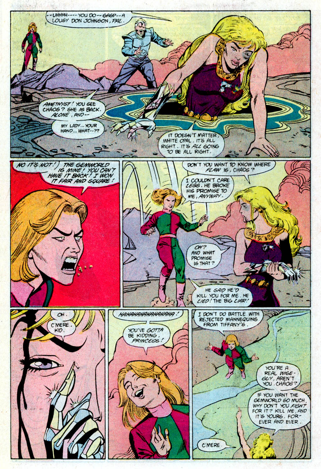 Read online Amethyst (1985) comic -  Issue # _Special 1 - 20