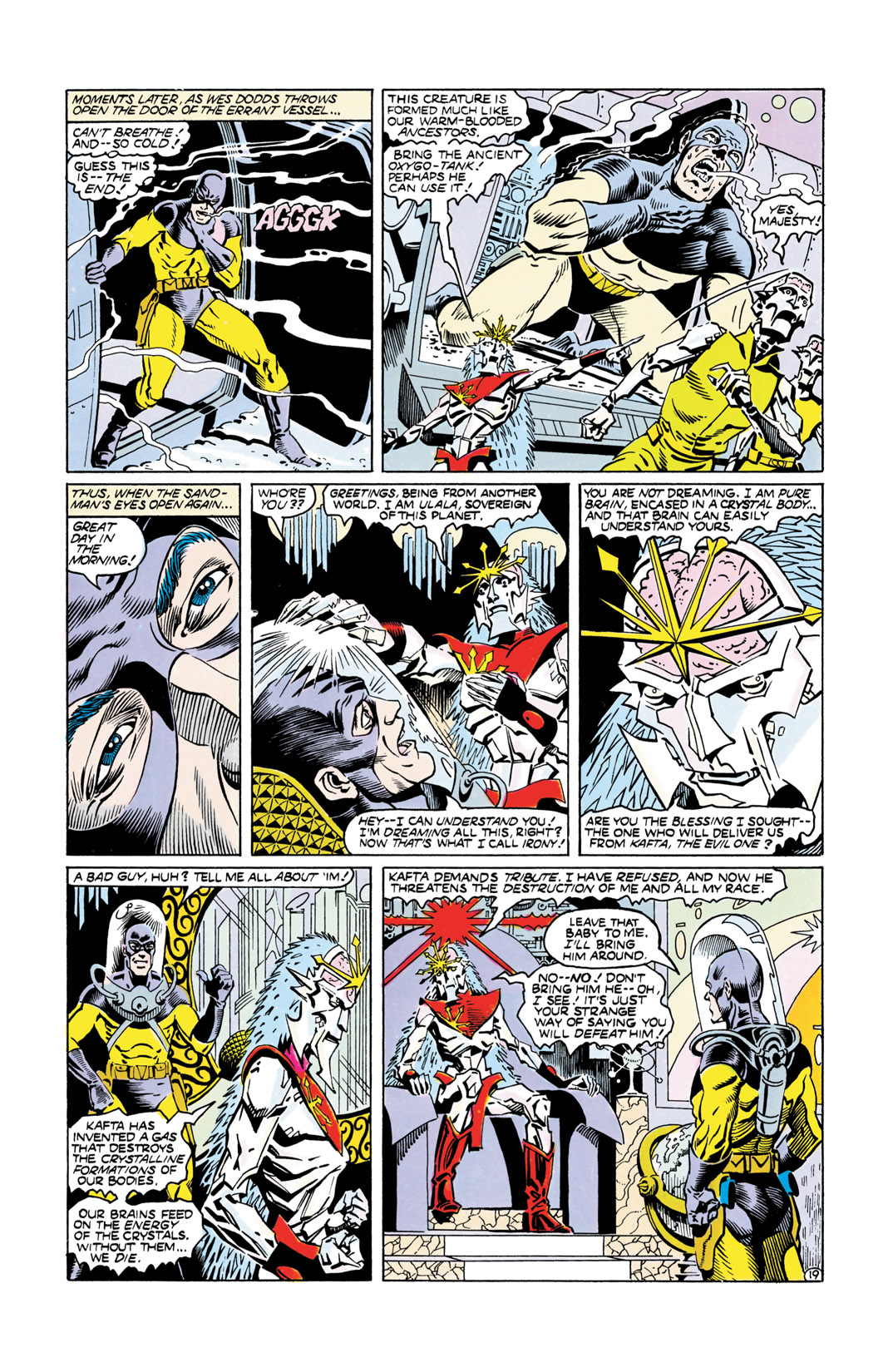 Read online All-Star Squadron comic -  Issue #55 - 20