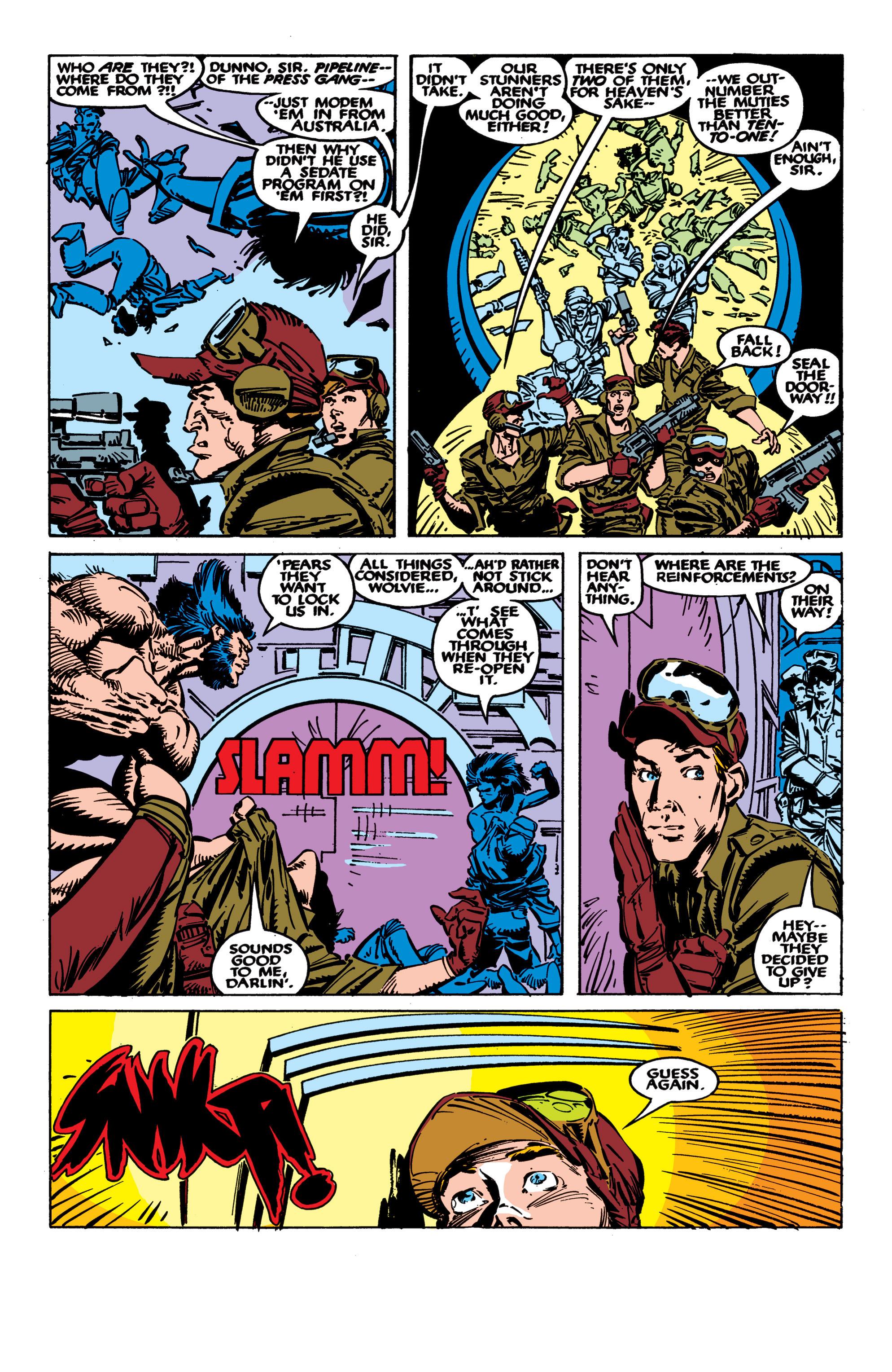 Read online Uncanny X-Men (1963) comic -  Issue #236 - 3