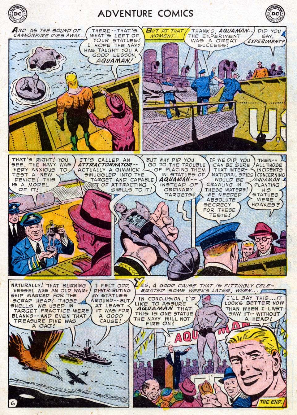 Read online Adventure Comics (1938) comic -  Issue #211 - 23