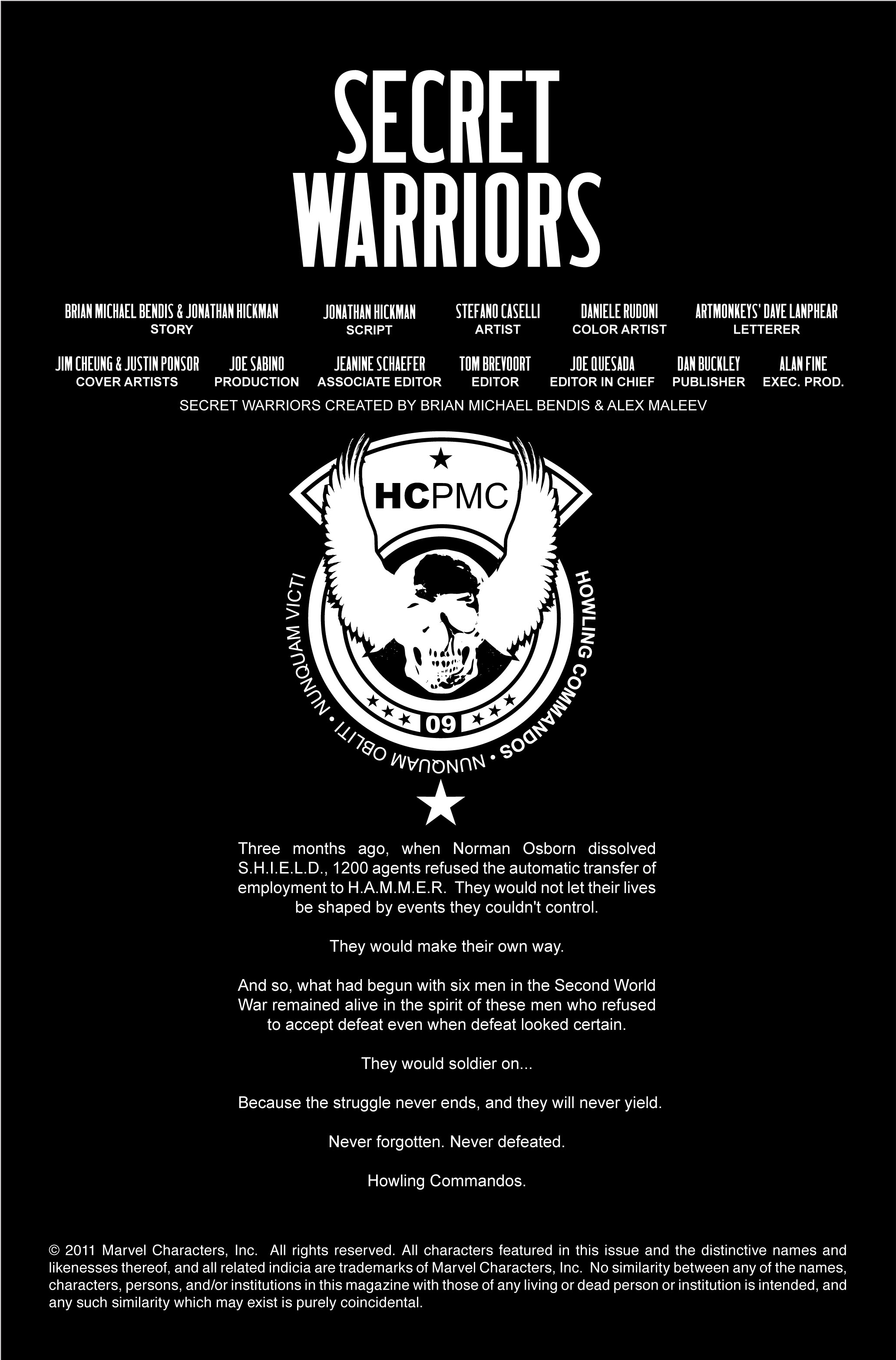Read online Secret Warriors comic -  Issue #4 - 3