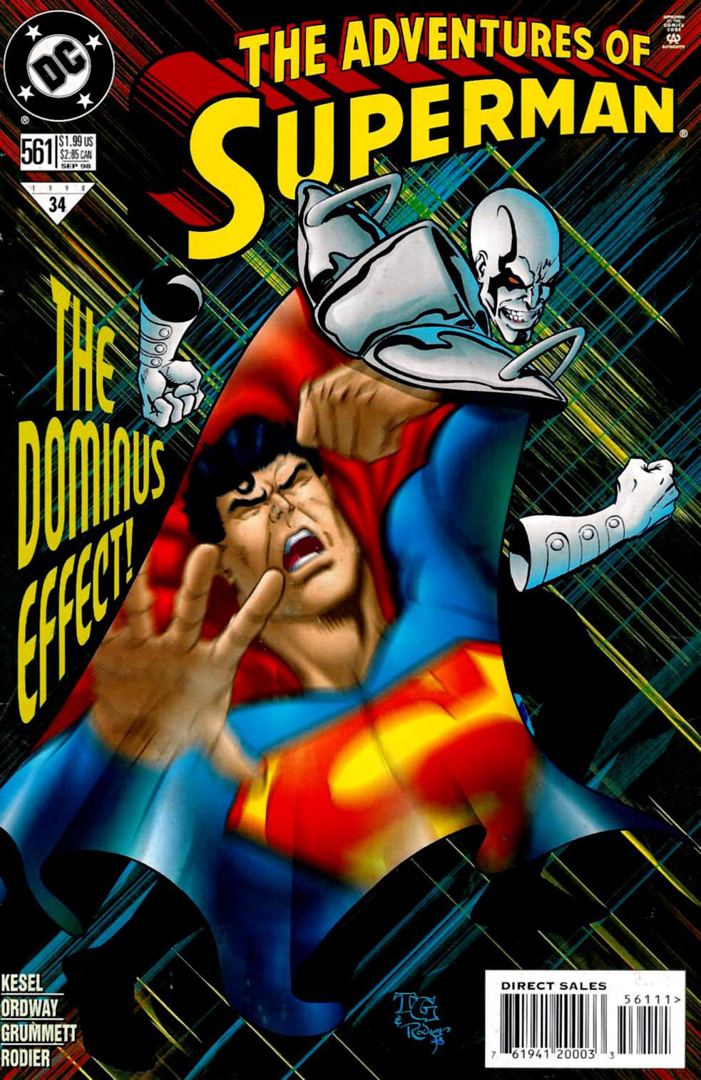 Read online Adventures of Superman (1987) comic -  Issue #561 - 1