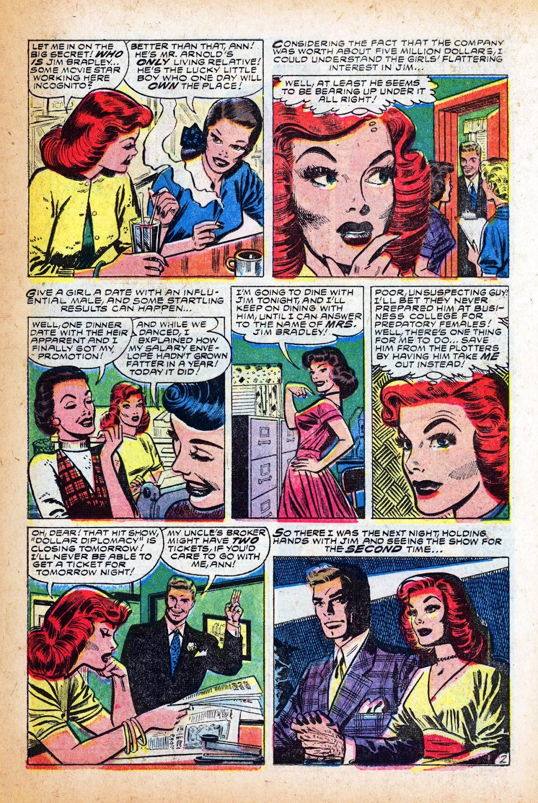 Love Romances (1949) issue 47 - Page 11