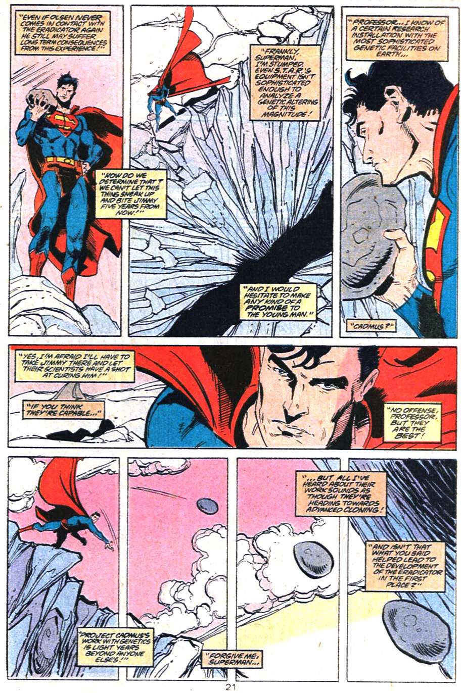 Read online Adventures of Superman (1987) comic -  Issue #459 - 22