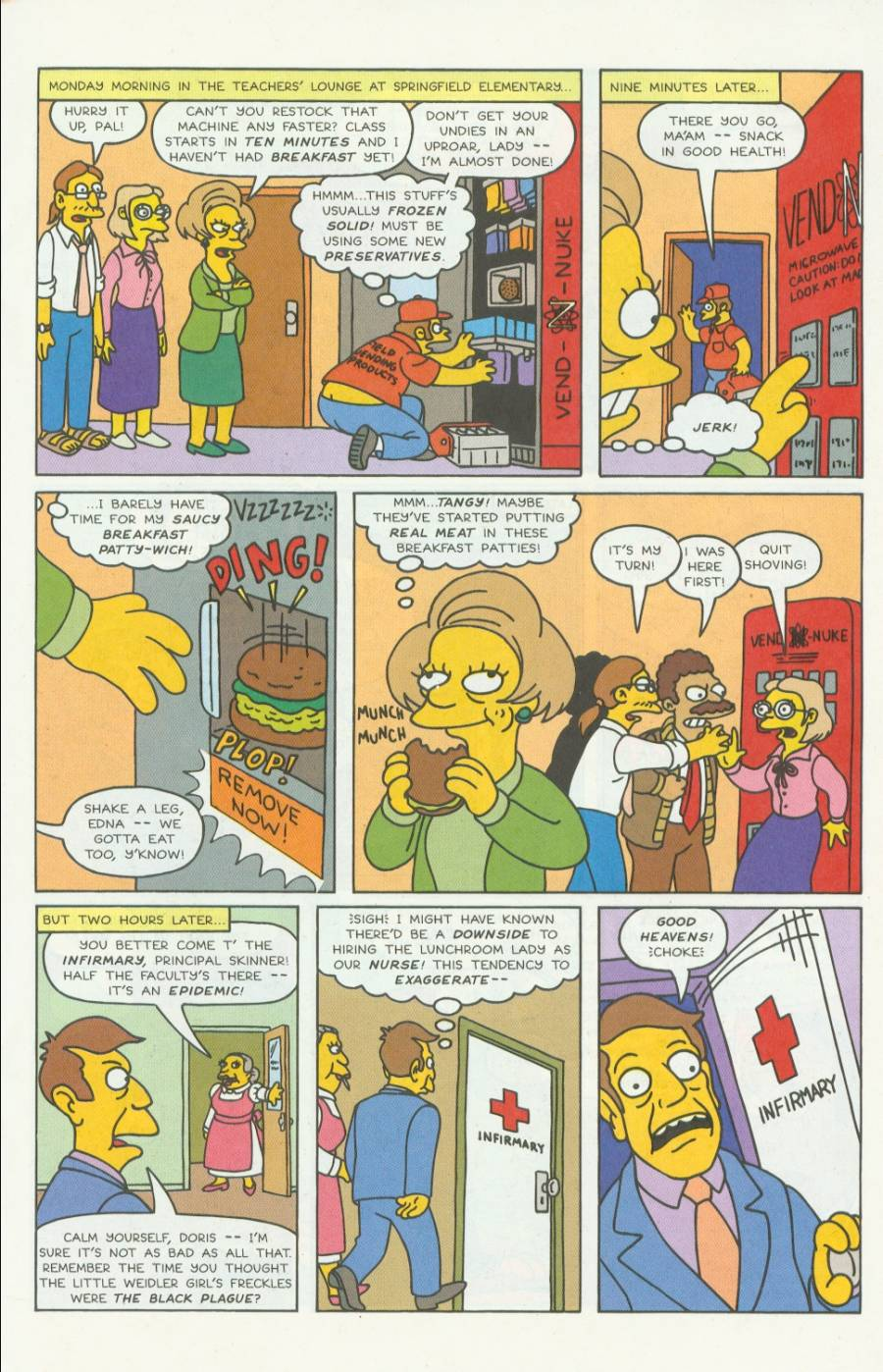 Read online Simpsons Comics comic -  Issue #4 - 14